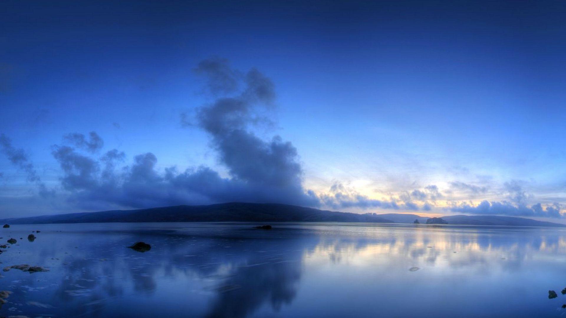 Blue Sky Photo On Your Desktop