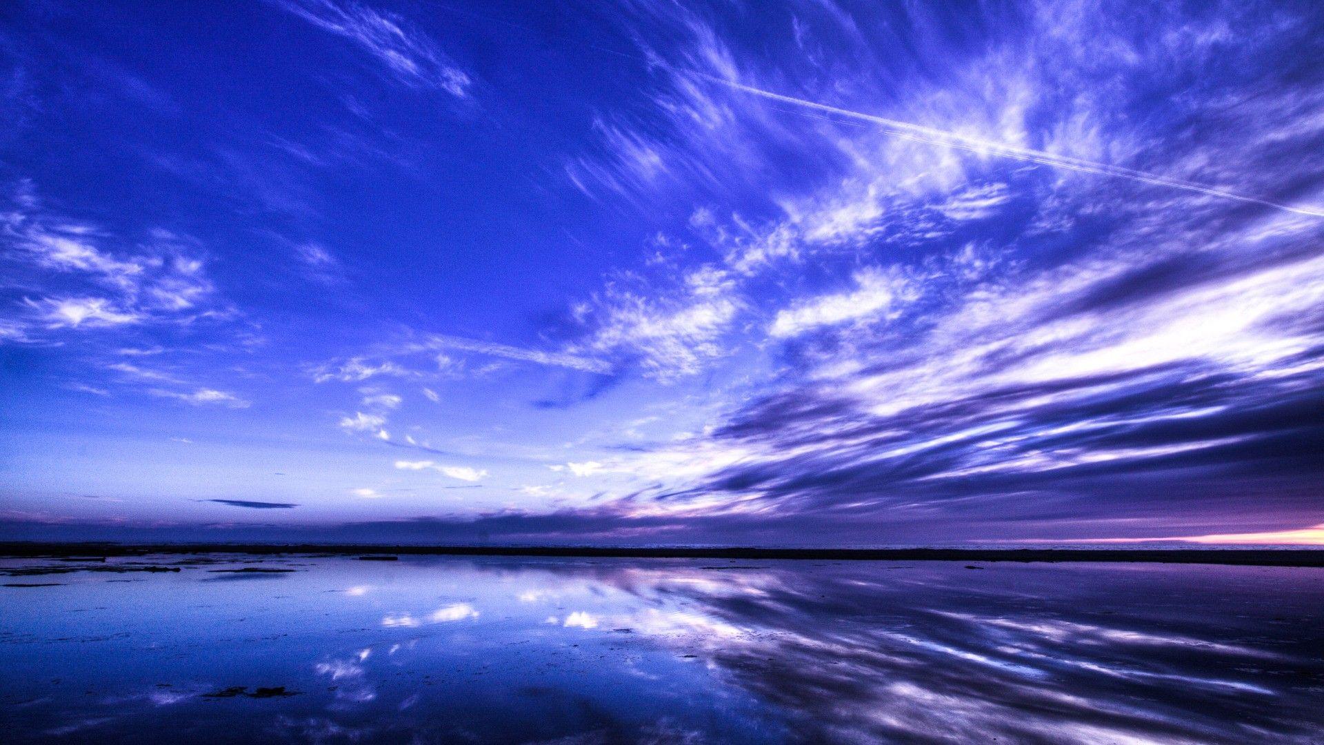 Blue Sunset Photo