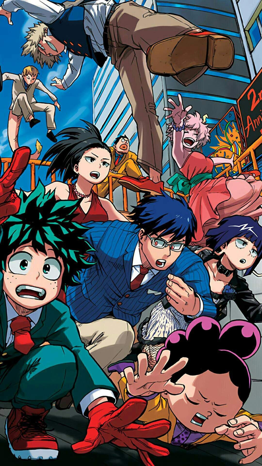 12 My Hero Academia Iphone Wallpapers Wallpaperboat