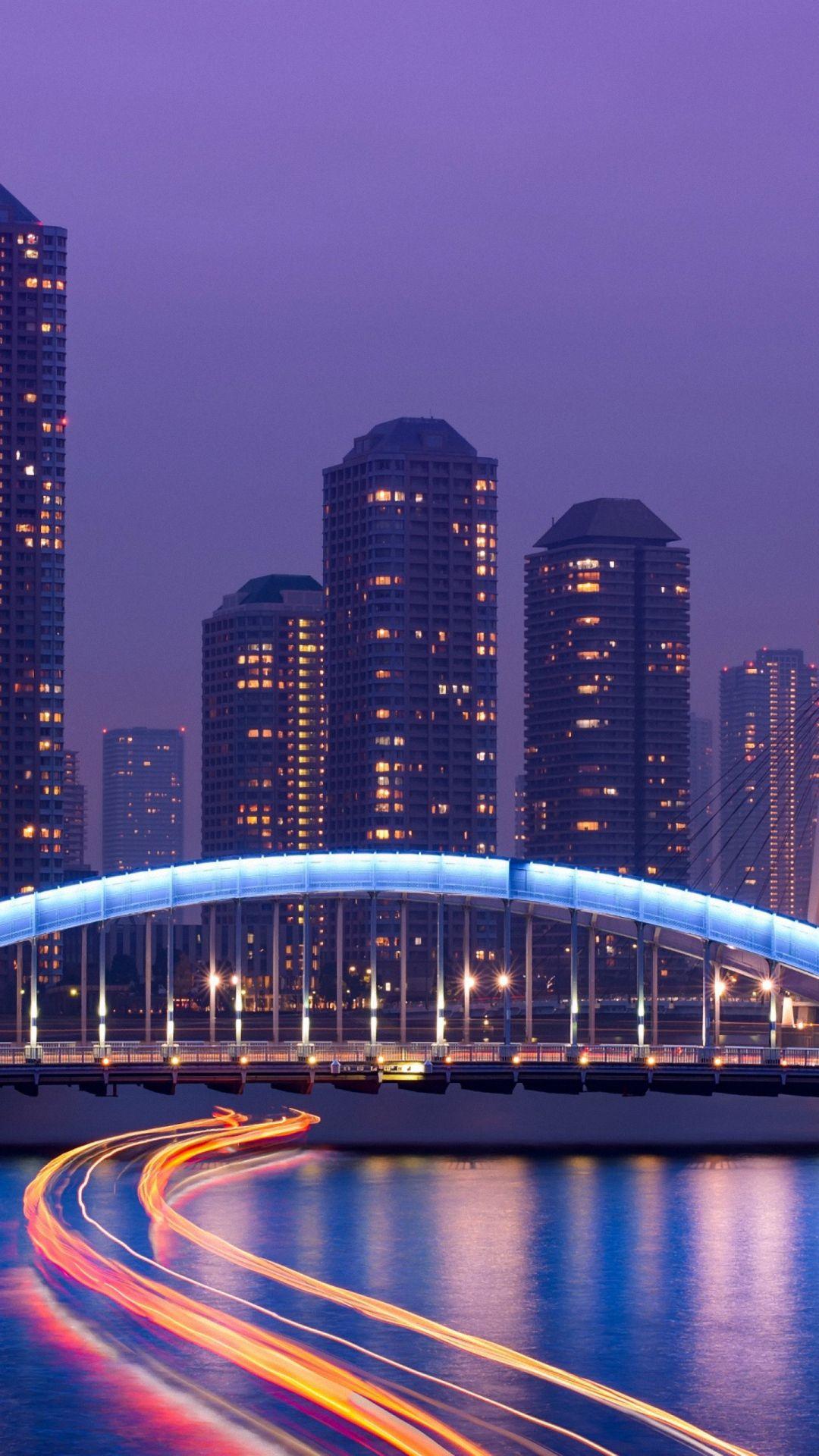 Bridge Tokyo Night 1920