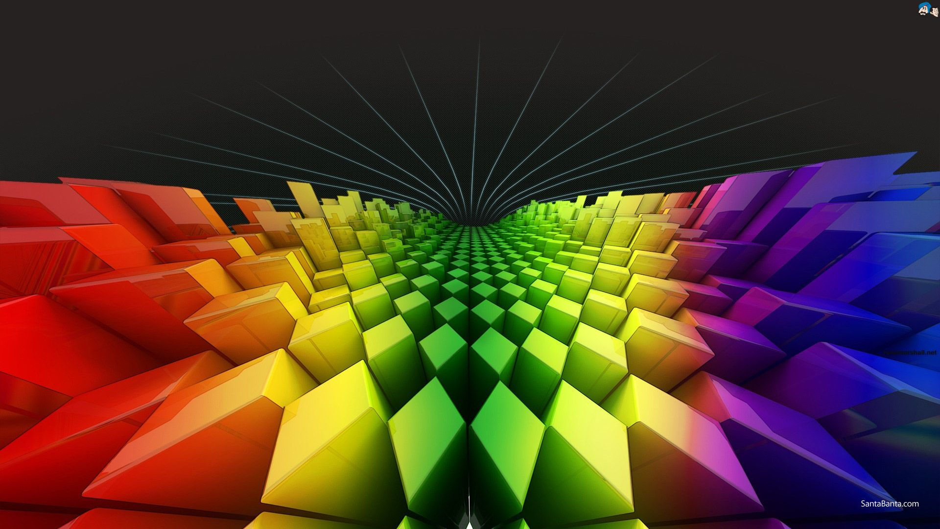 Bright Background 3d