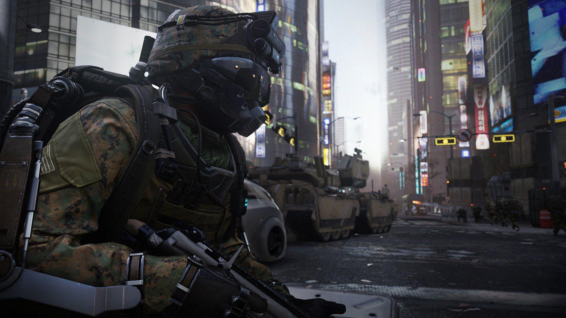 Call Of Duty Advanced Warfare Soldier