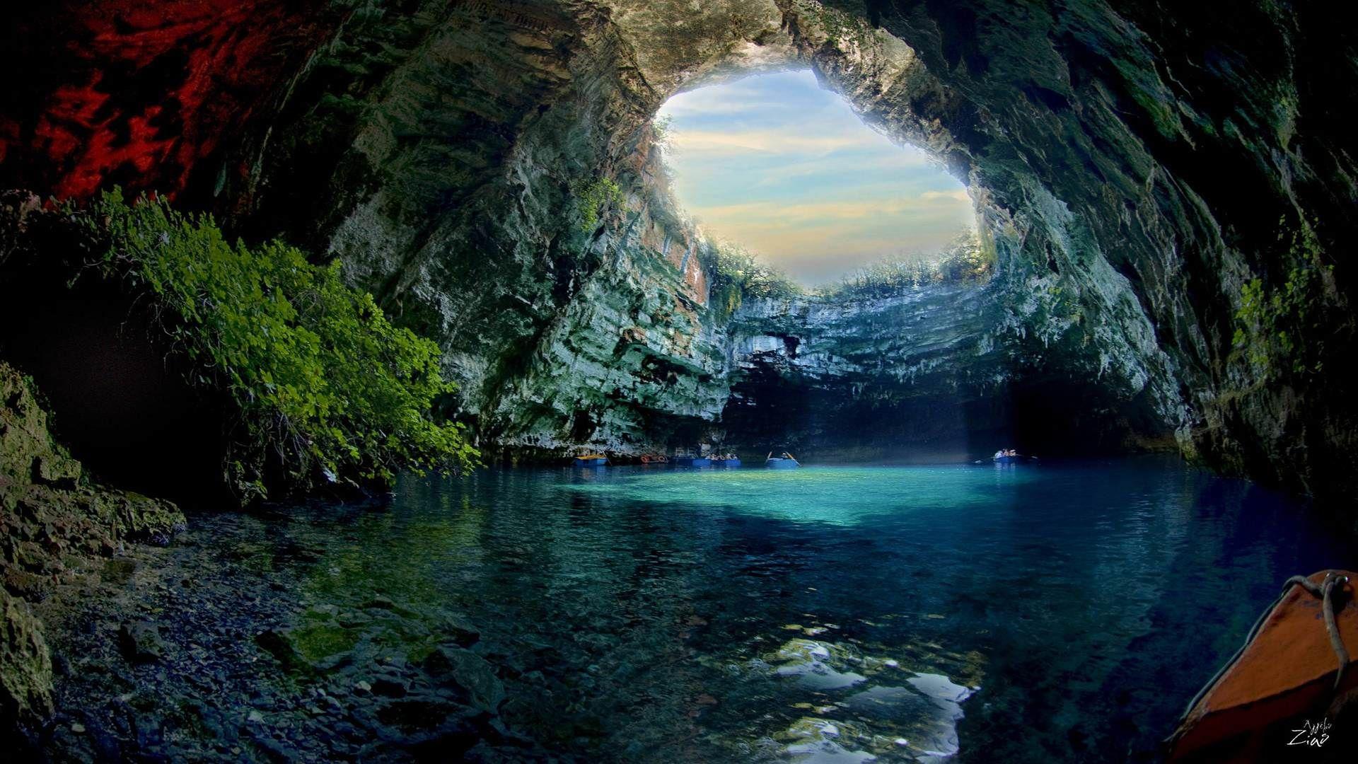 Cave Lake Melissani