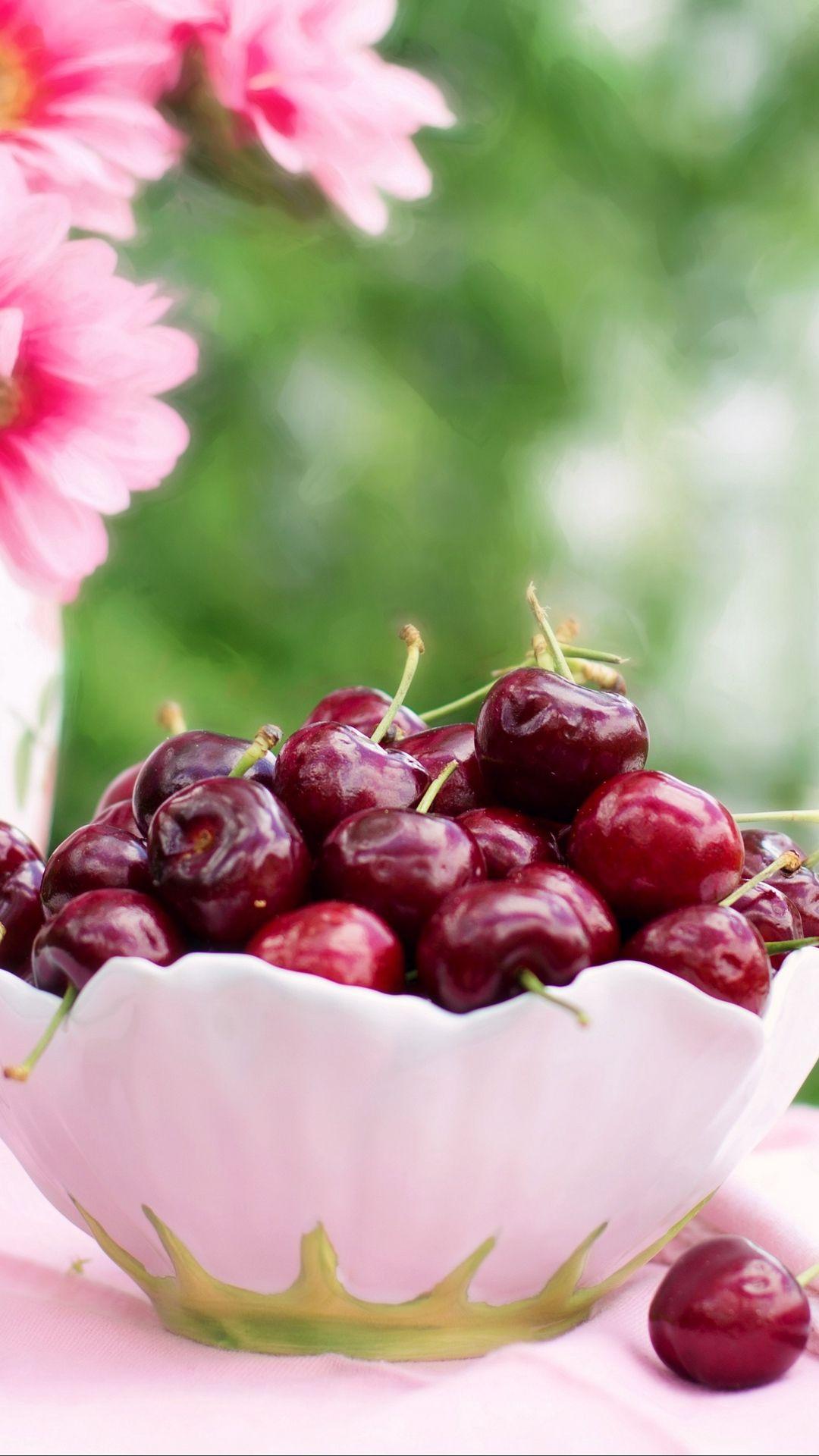 Cherry Flowers Summer Photo