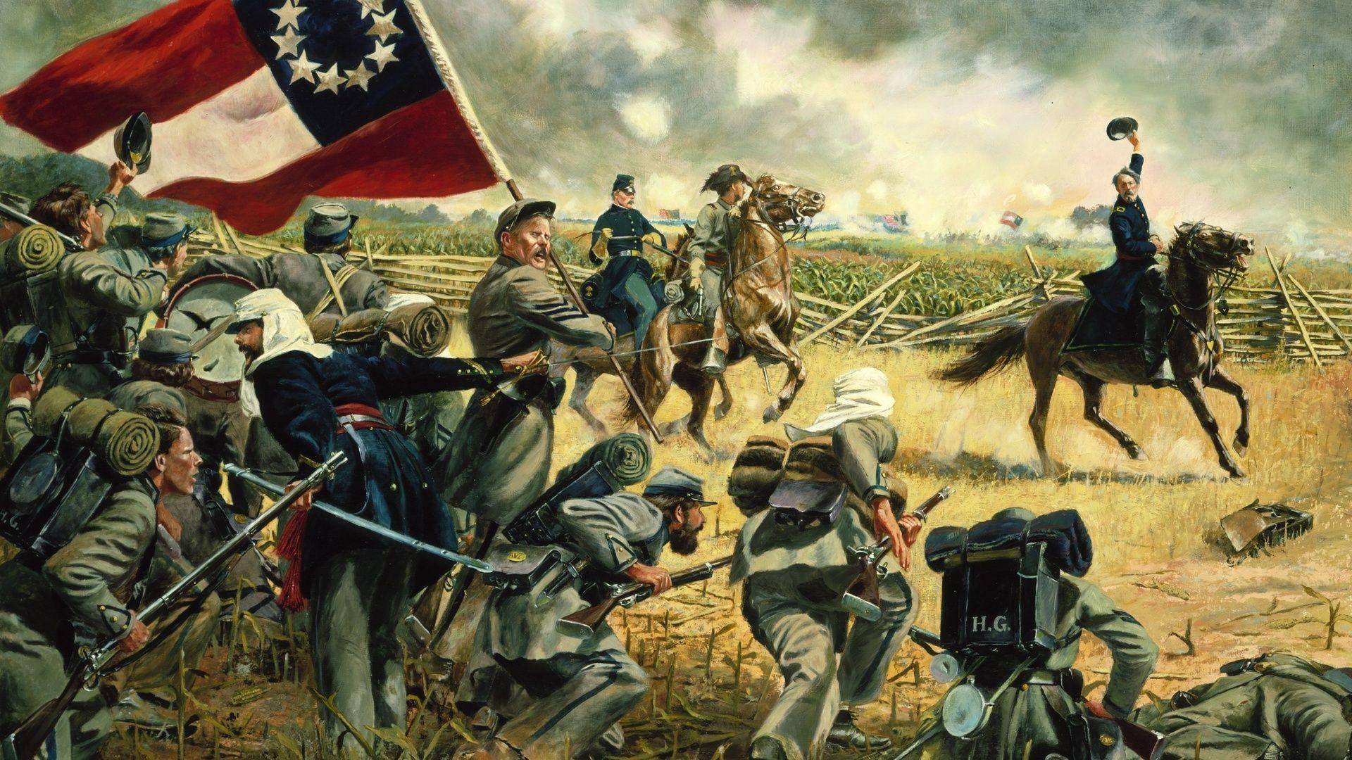 Civil War Paintings