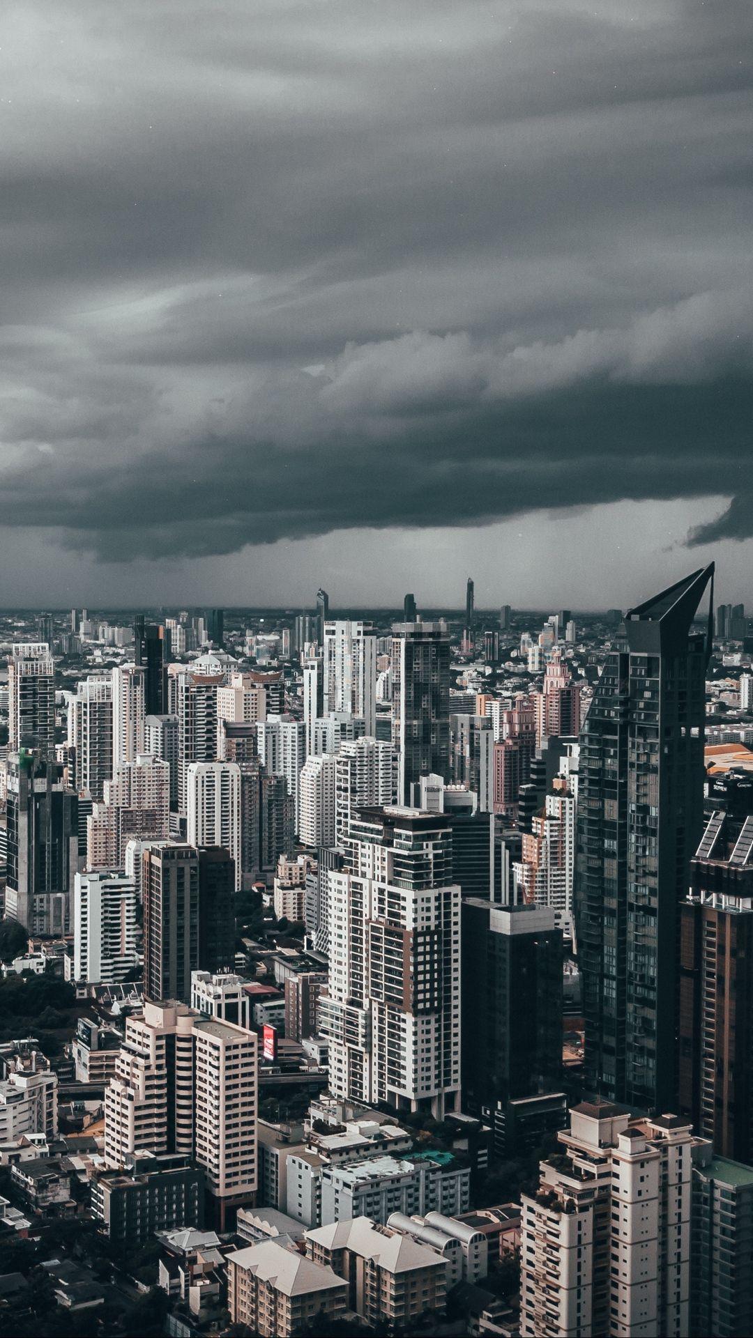 Cloudy City 1920 1080