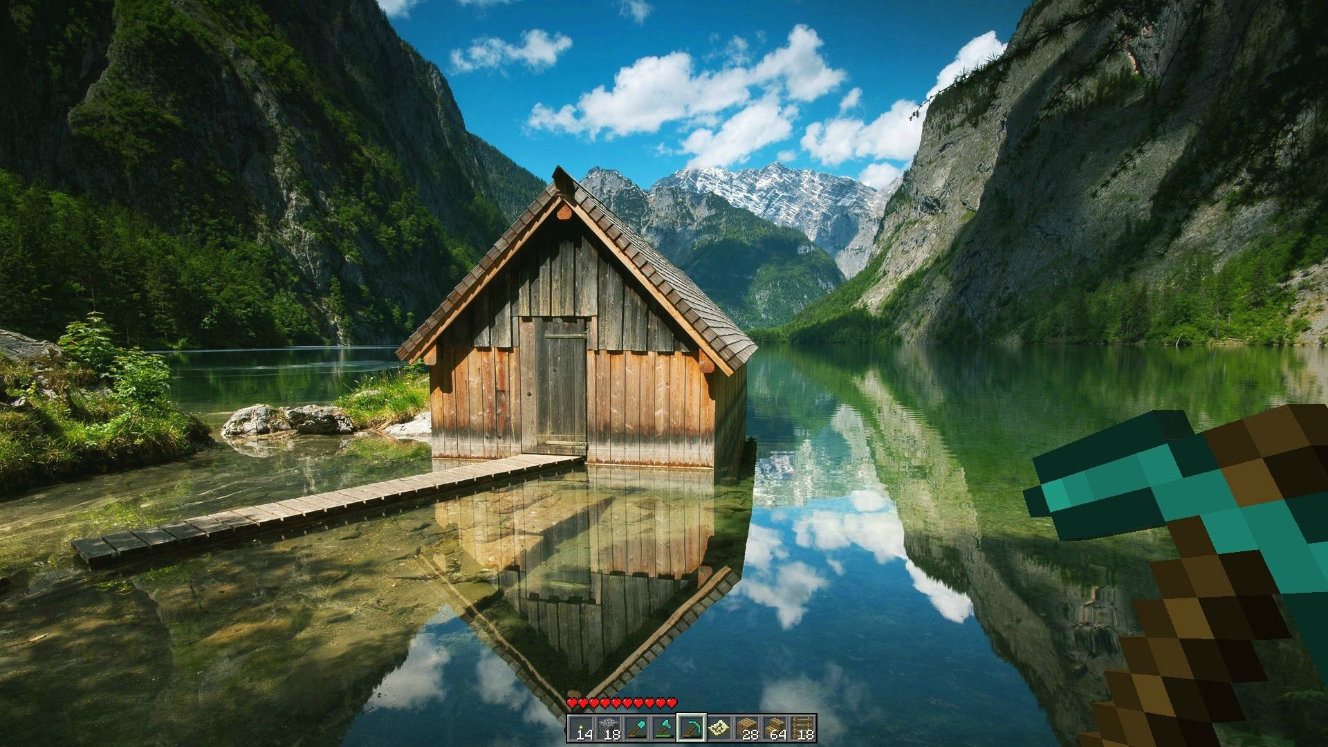 Cottage By A Mountain Lake