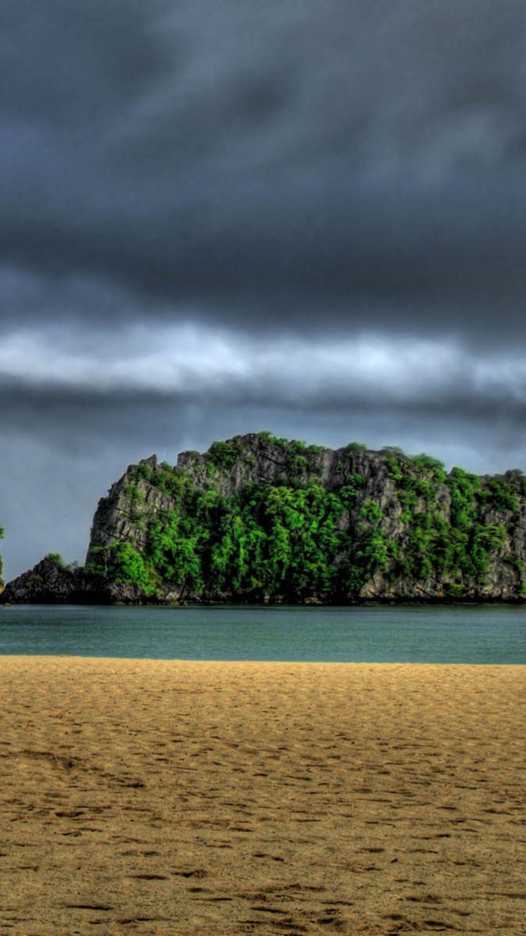 Desert Island Beach Photo