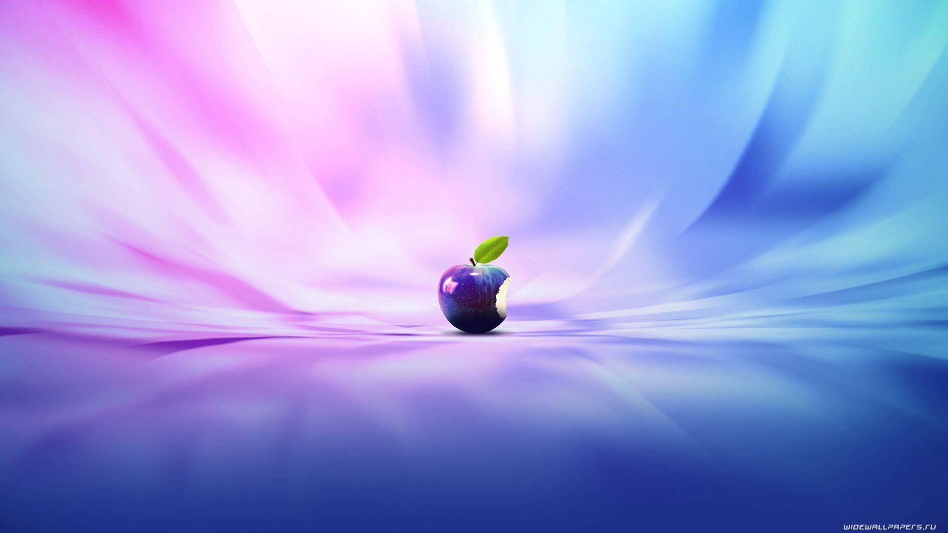 Desktop Apple Purple