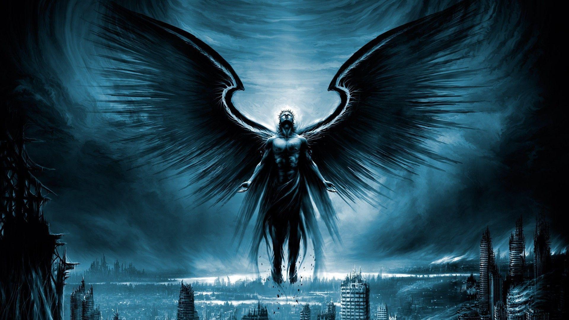 Fallen Black Angel