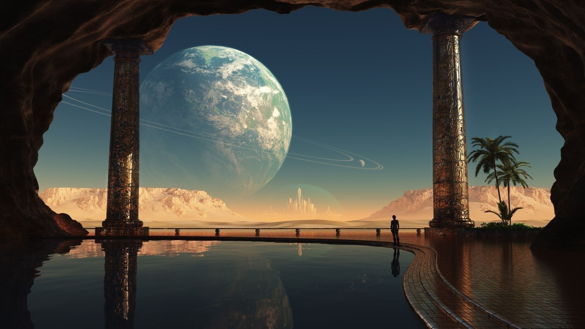 Fantastic Landscapes Of Other Planets