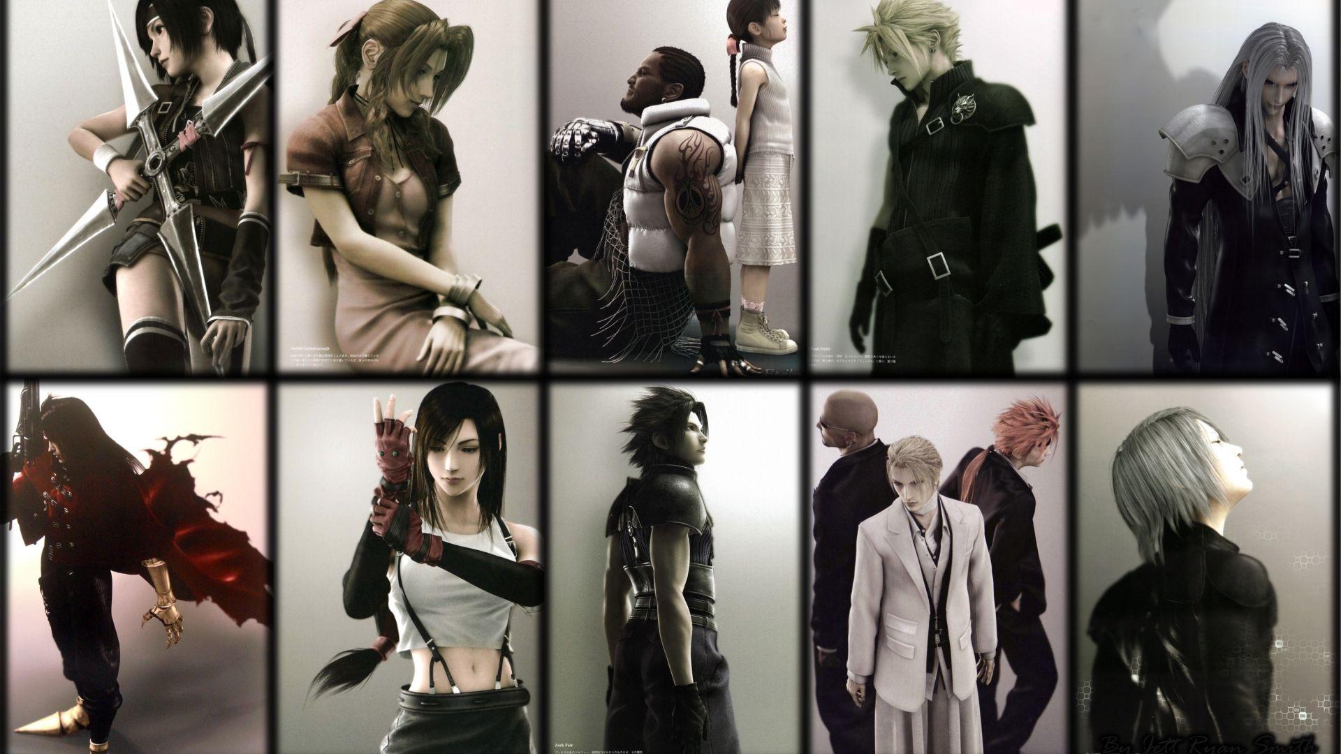Final Fantasy Vii Girls