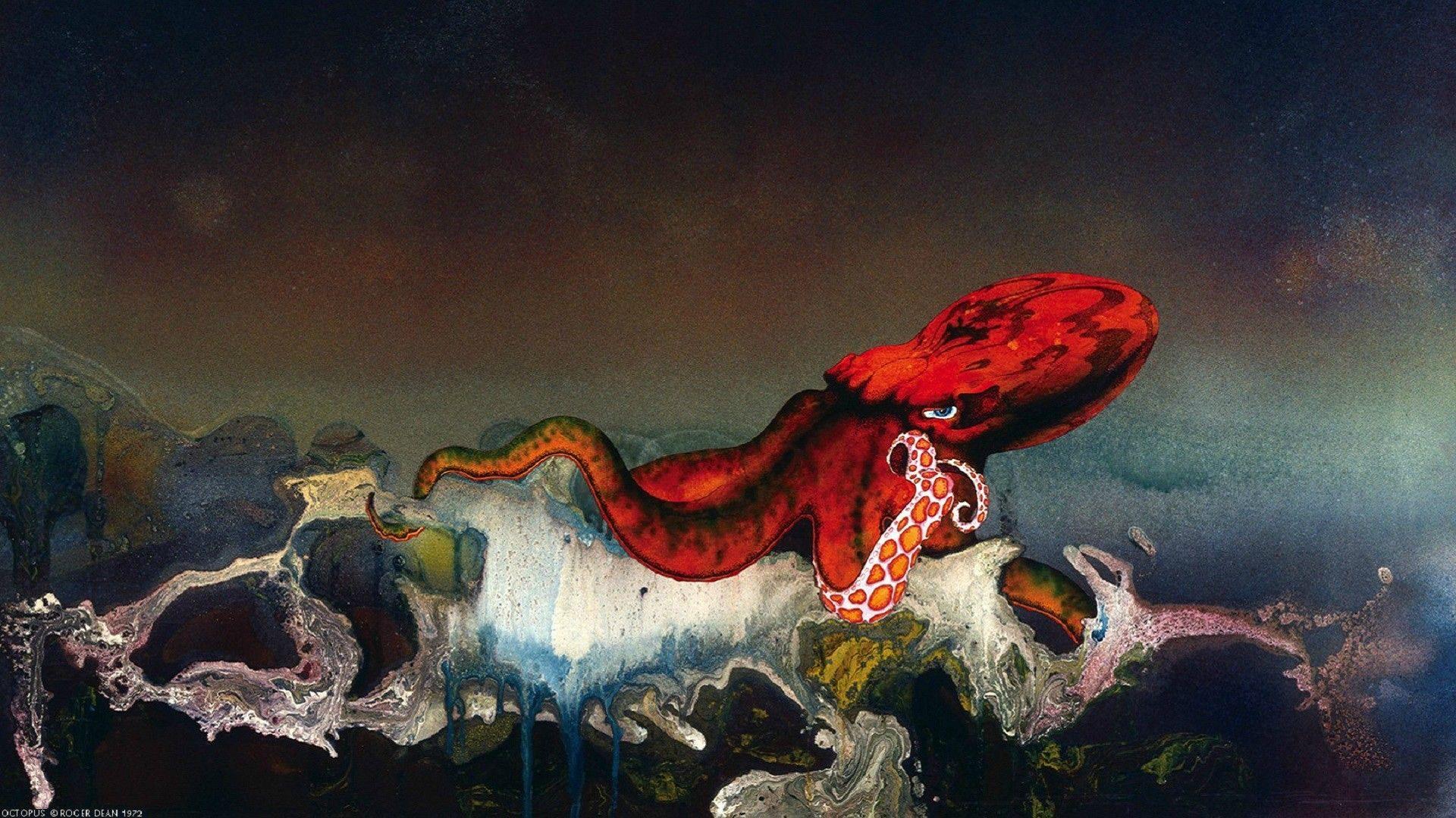 Gentle Giant Octopus 1972