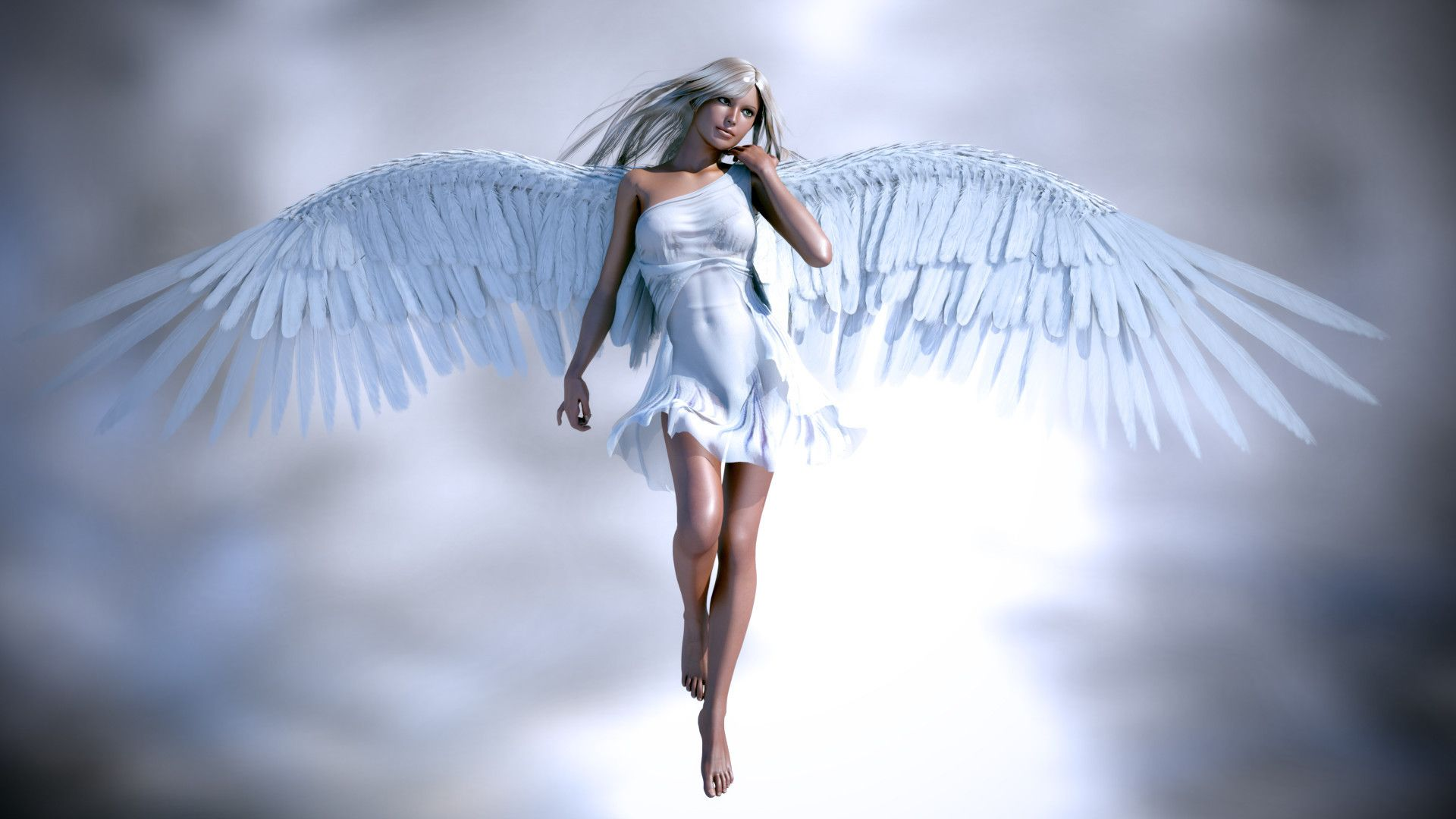 Girl With Angel Wings Pictures