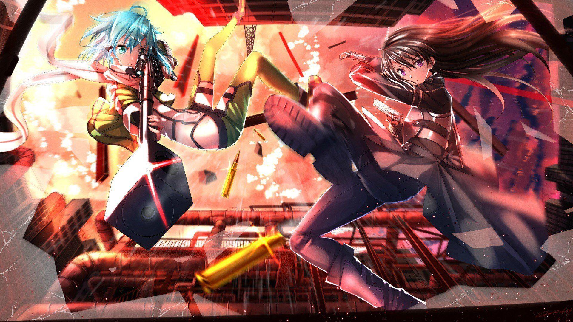 22 Sword Art Online Wallpapers Wallpaperboat