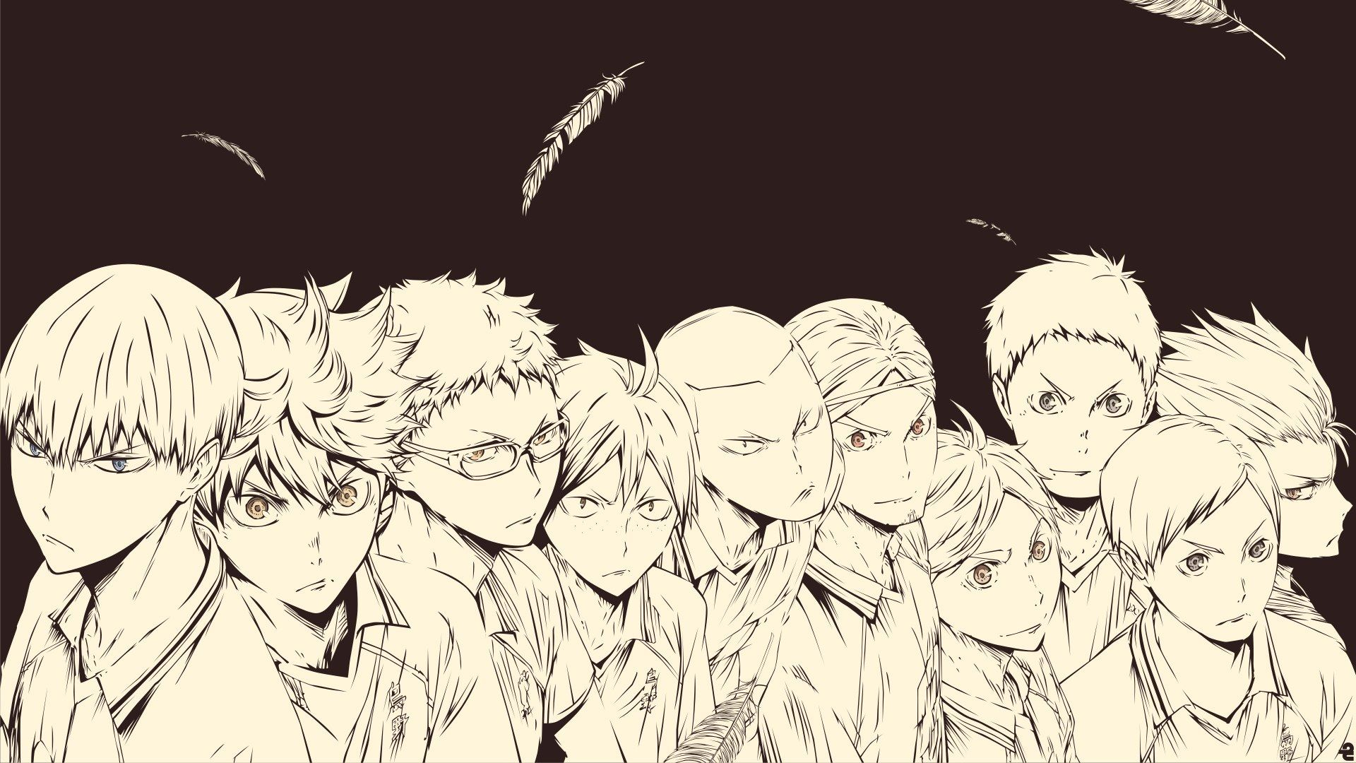 Haikyuu Sugawara Wallpaper