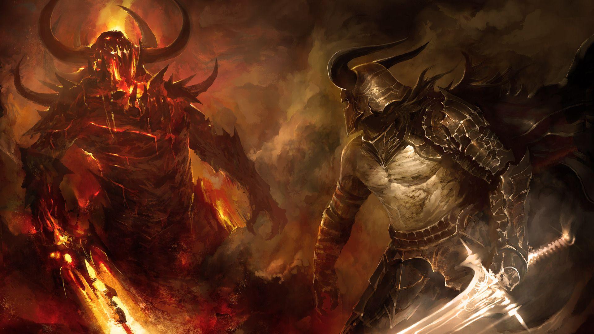 Hell Art Demon