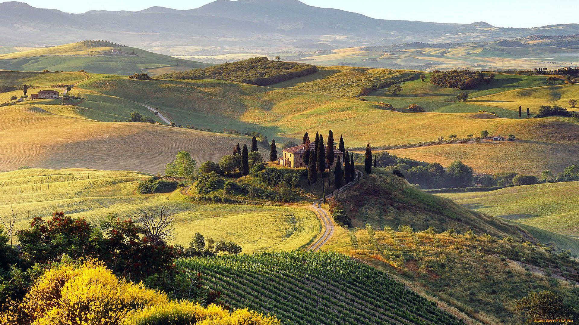 Hills Of Tuscany Italy Photo