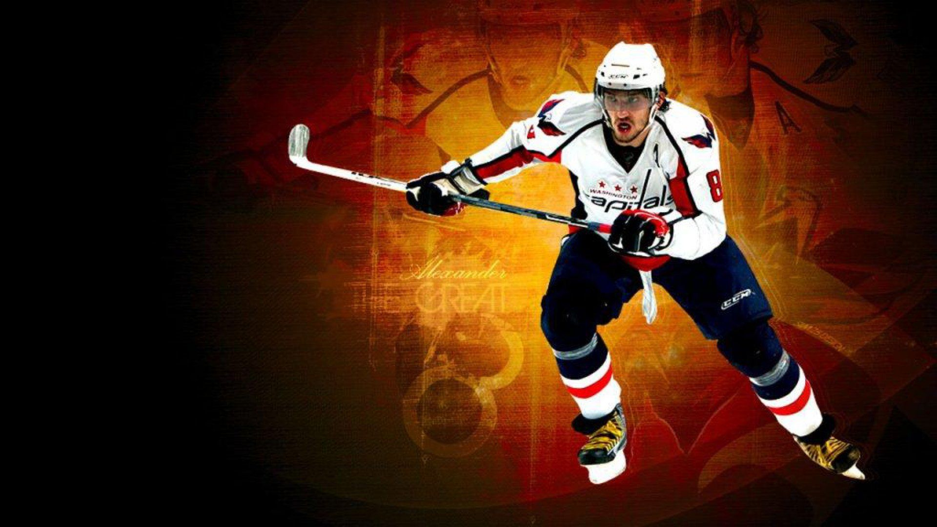 Hockey Screensaver Ovechkin