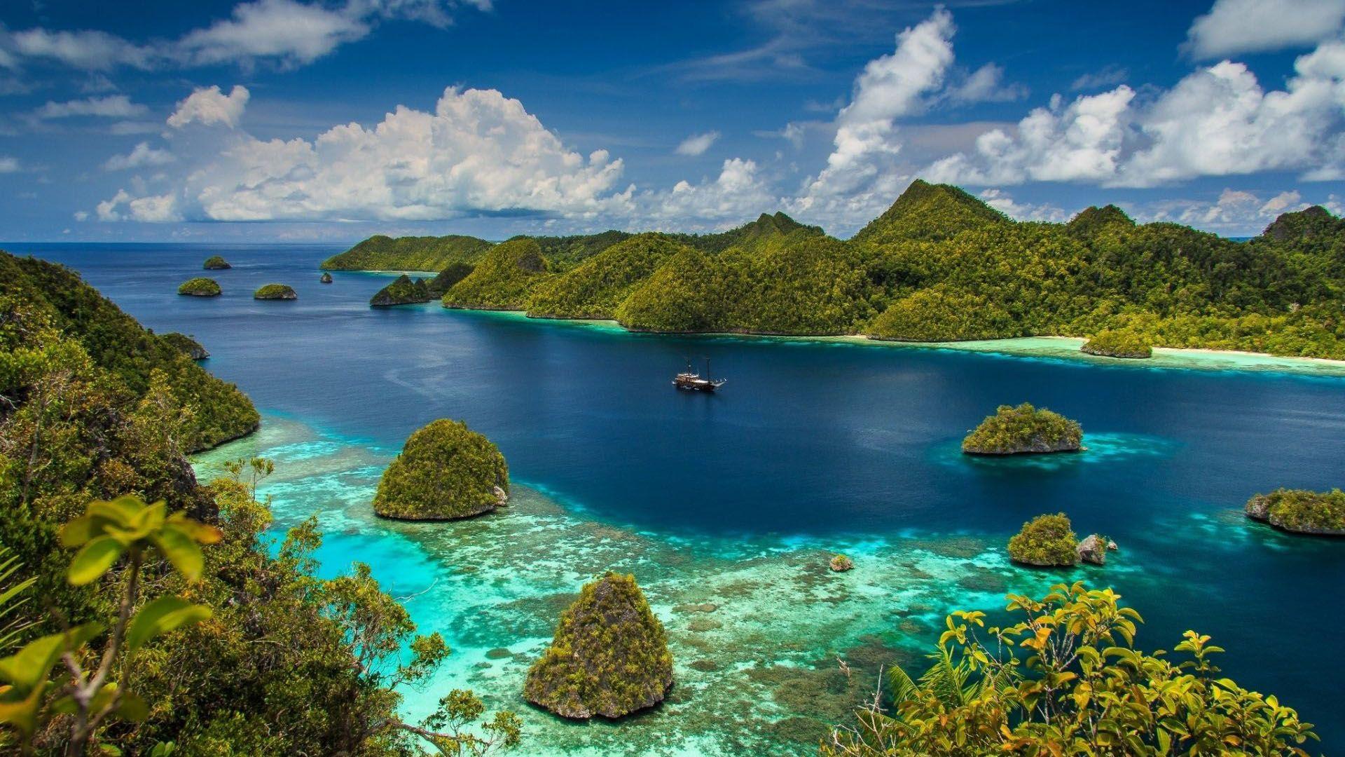 Island Raja Ampat Indonesia