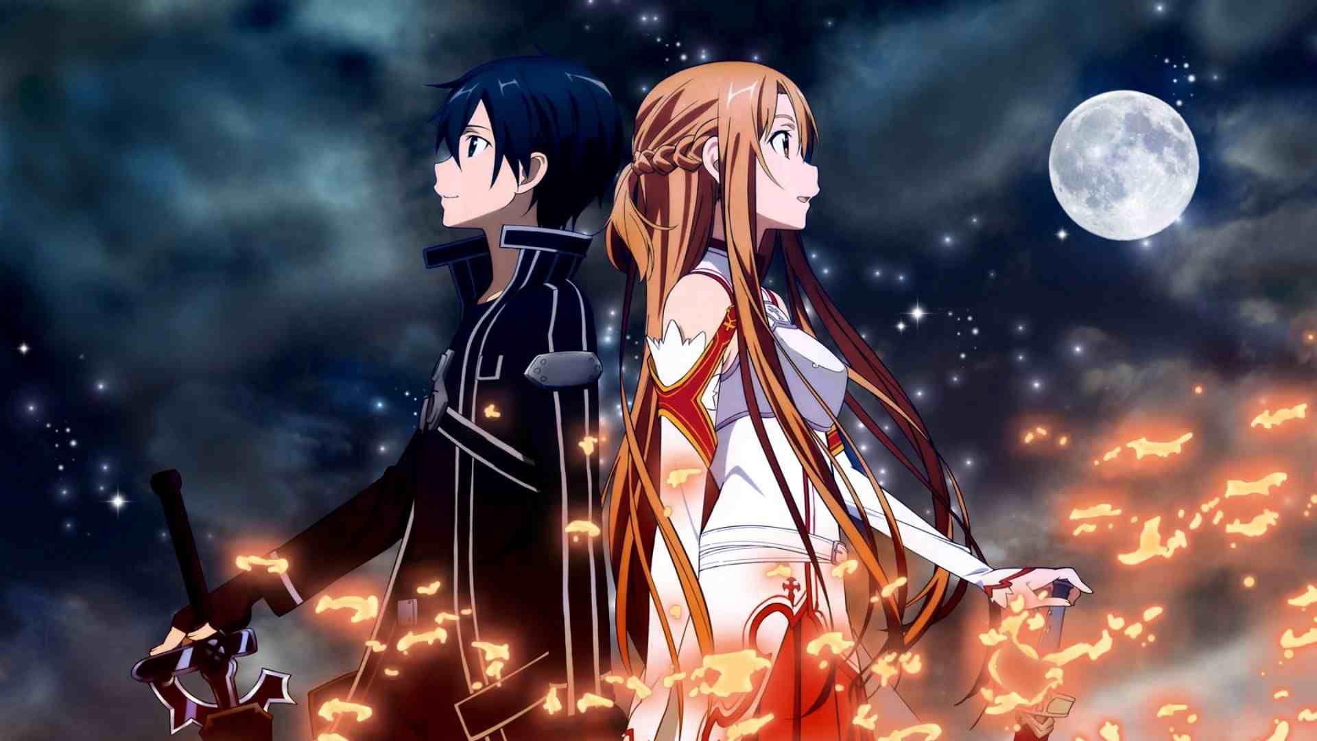 Kirito And Asuna Season 1