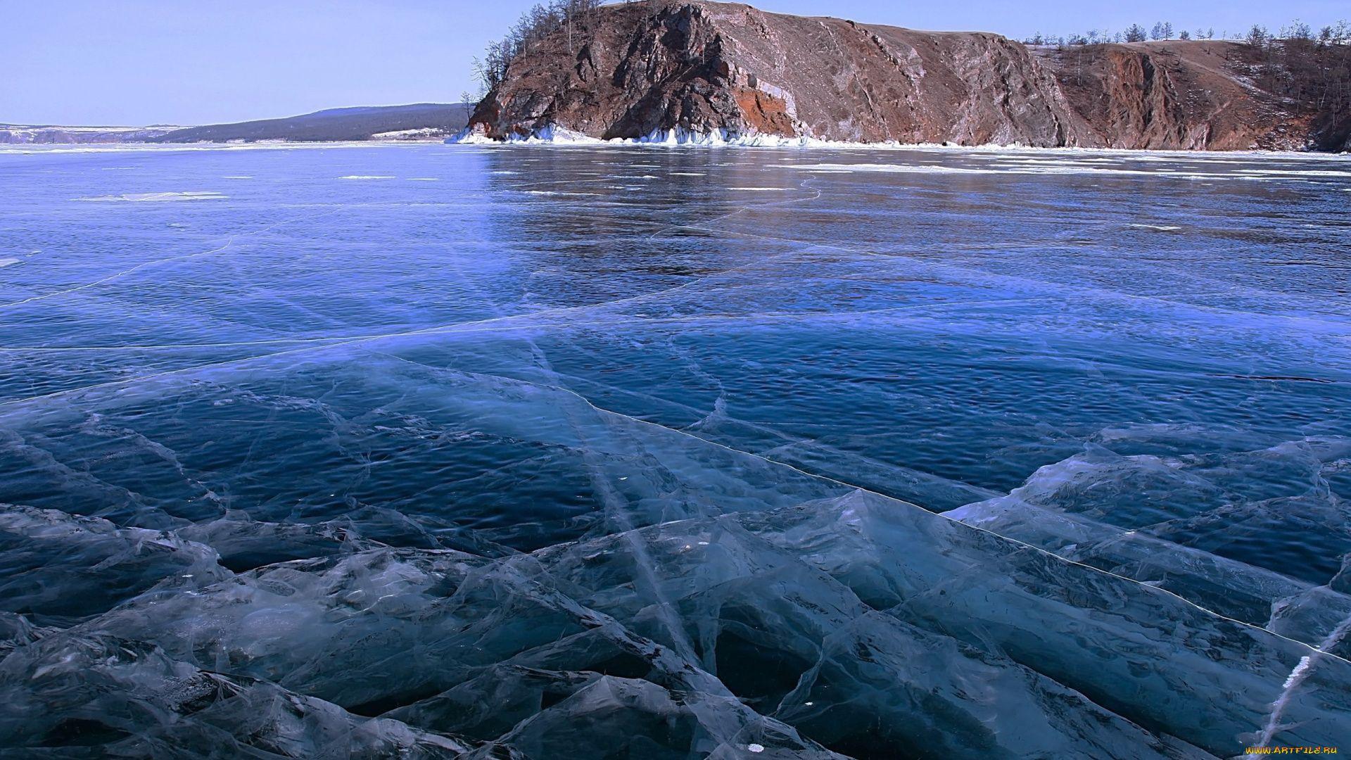 Lake Baikal In Winter Photo