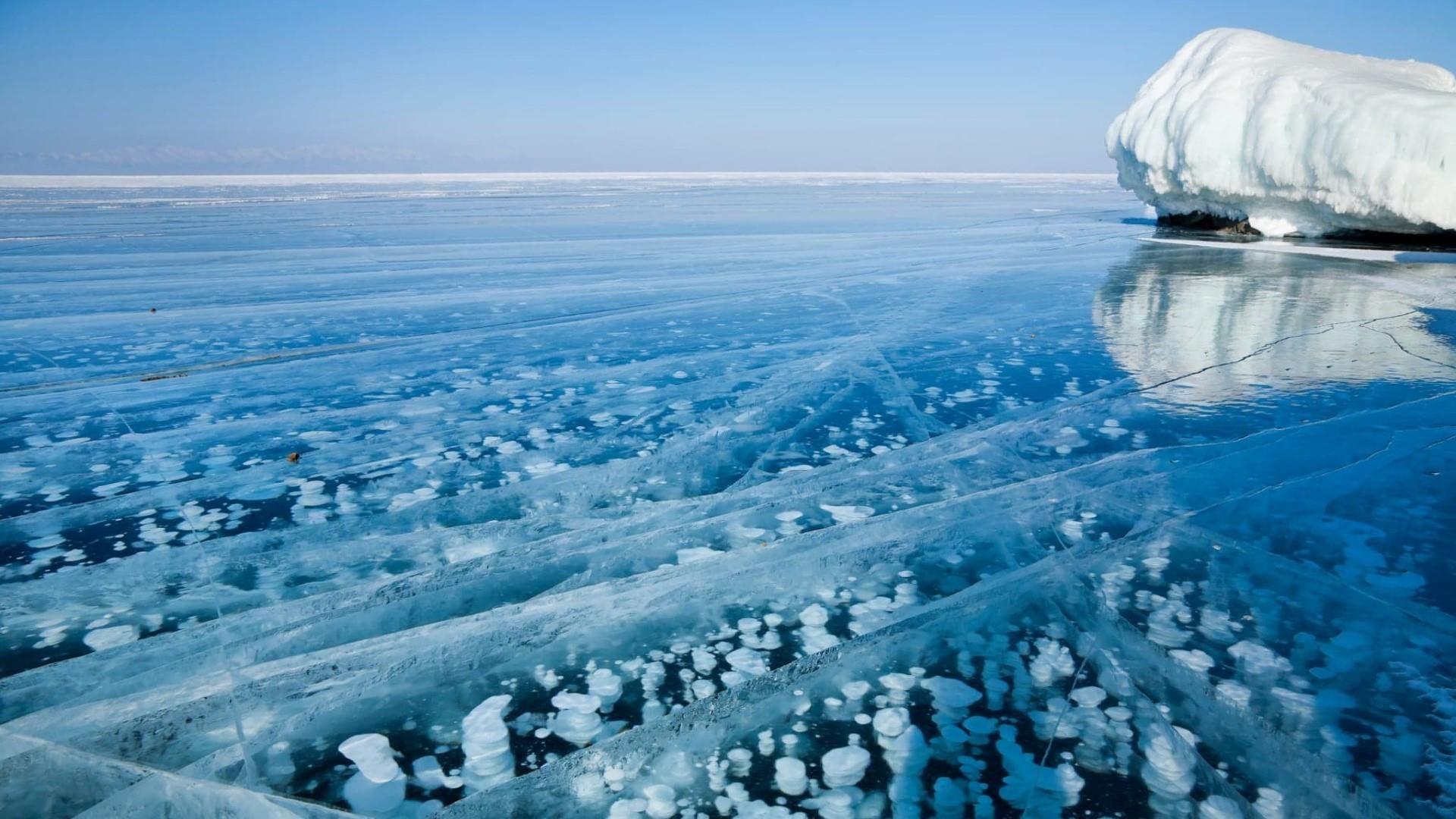 Lake Baikal Winter