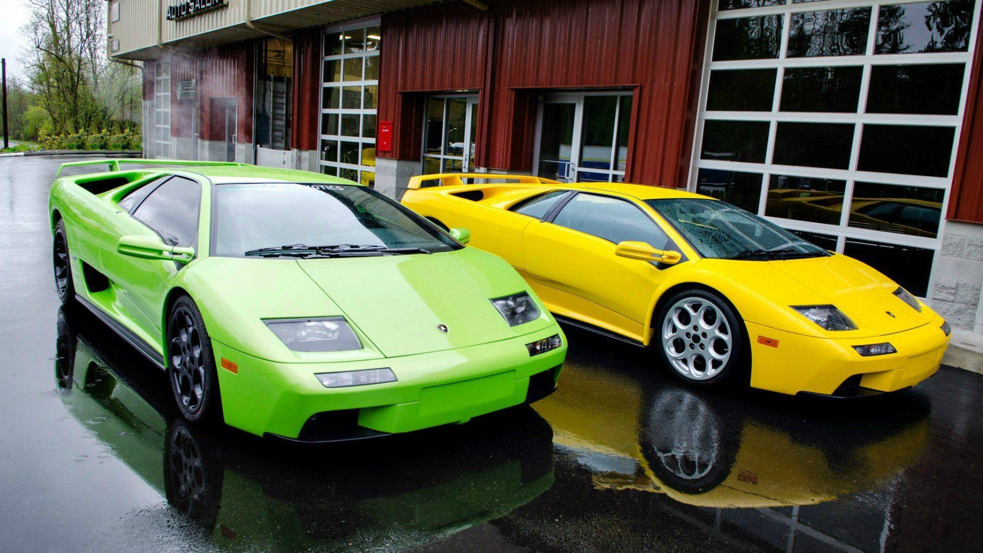 Lamborghini Diablo Desktop