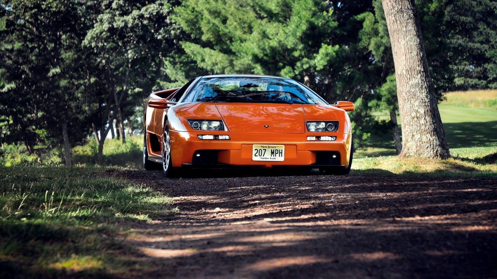 Lamborghini Diablo Orange