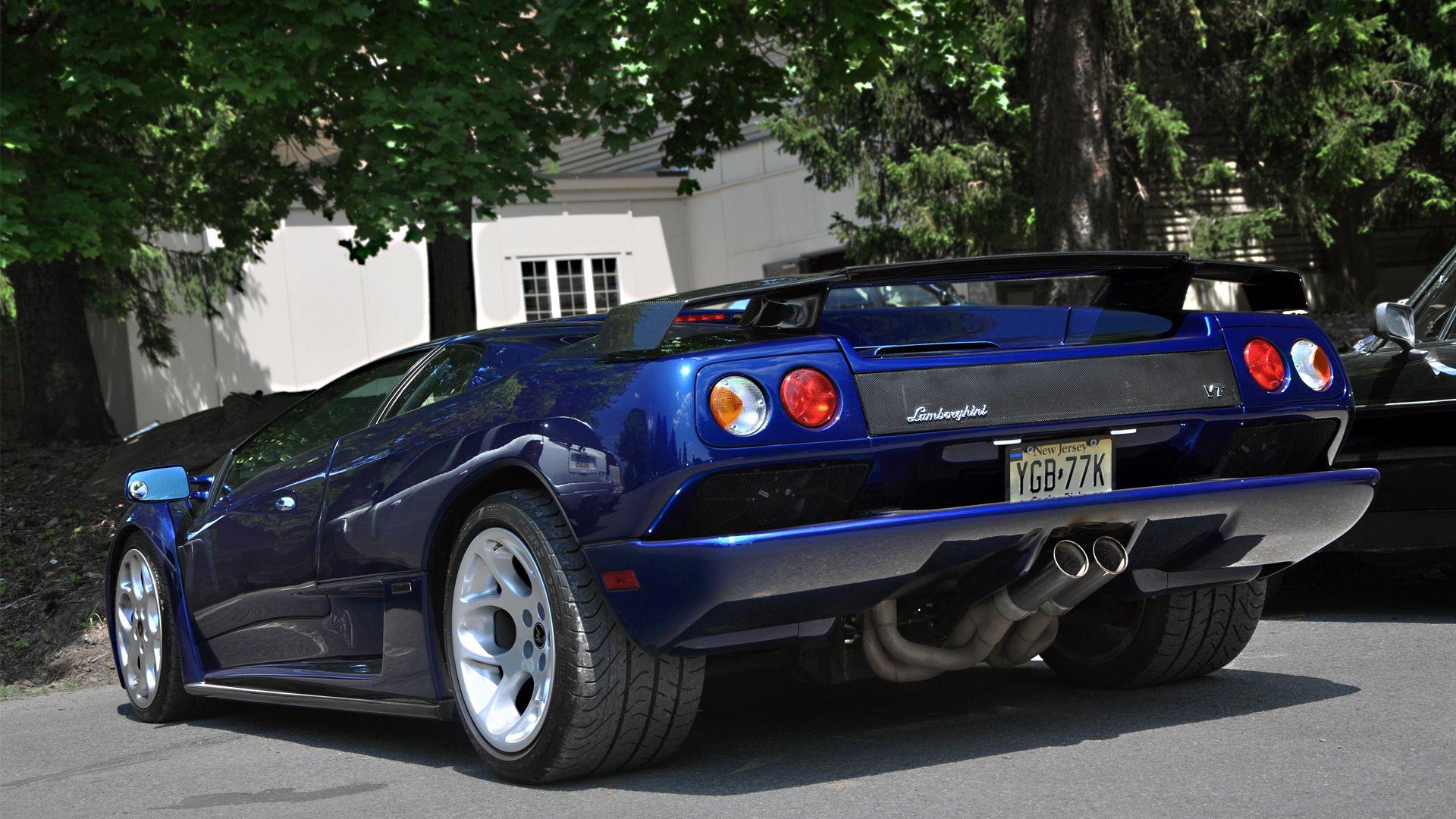 Lamborghini Diablo Vt Roadster