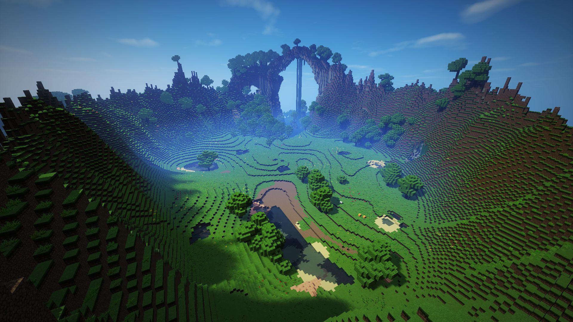 Landscape Minecraft 2560 X 1440