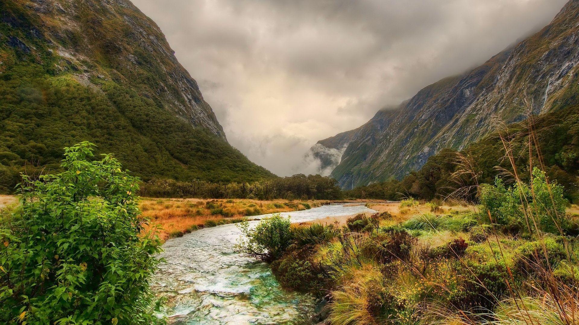 Landscape Mountain River