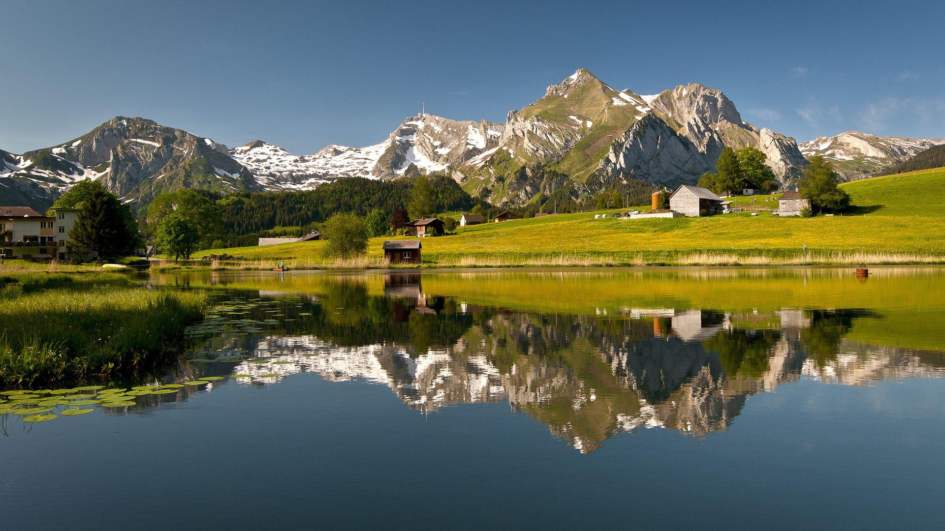 Landscapes Of Switzerland