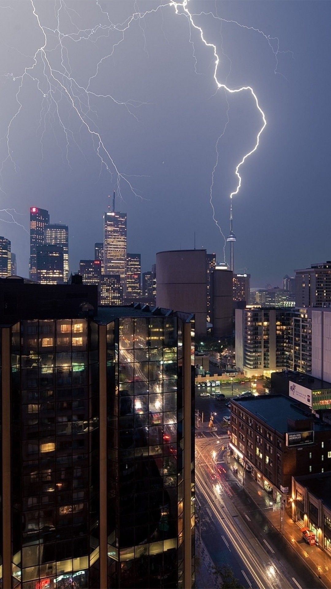 Lightning In Cities Pictures