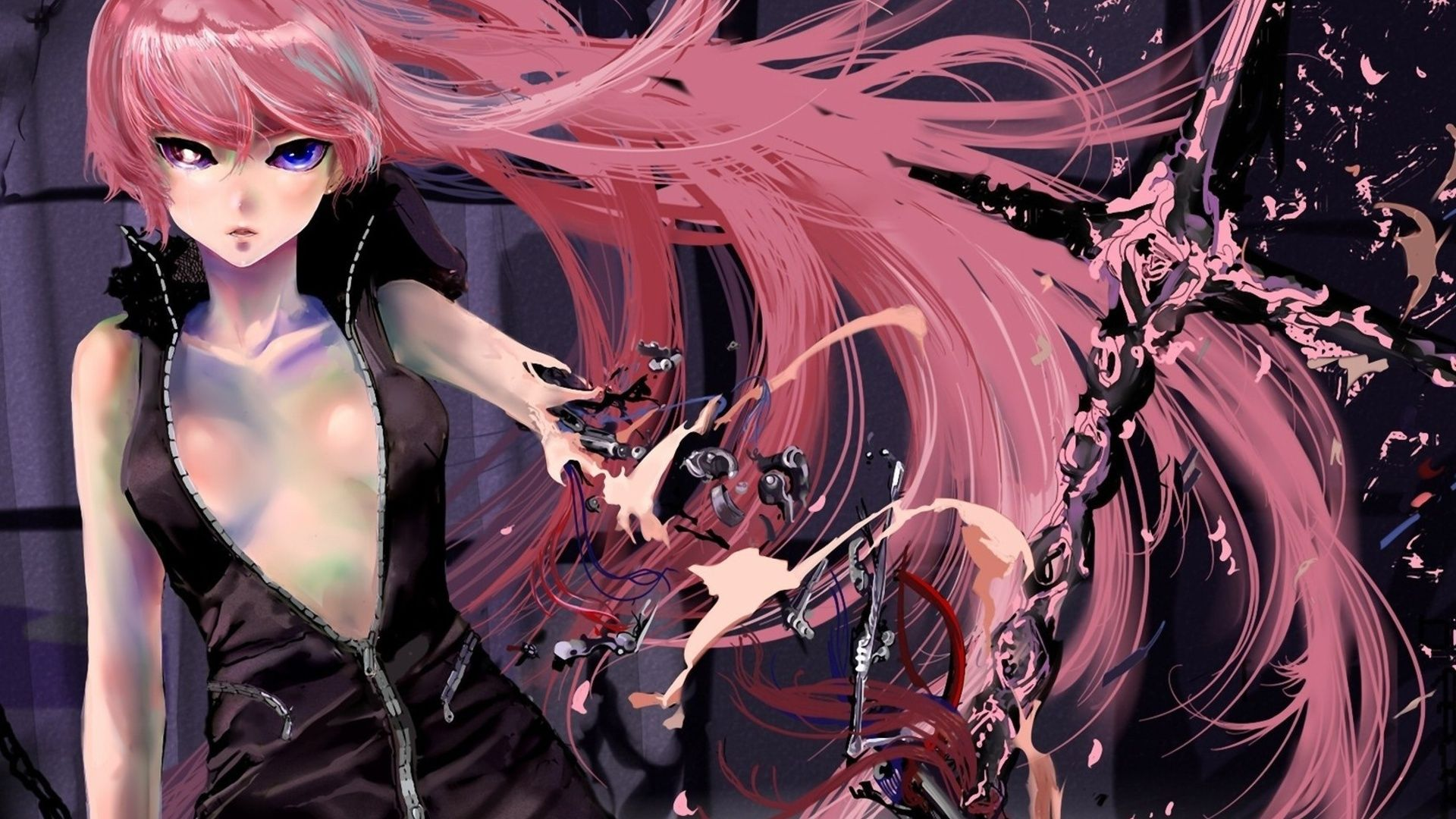 Megurine Luka Art Military