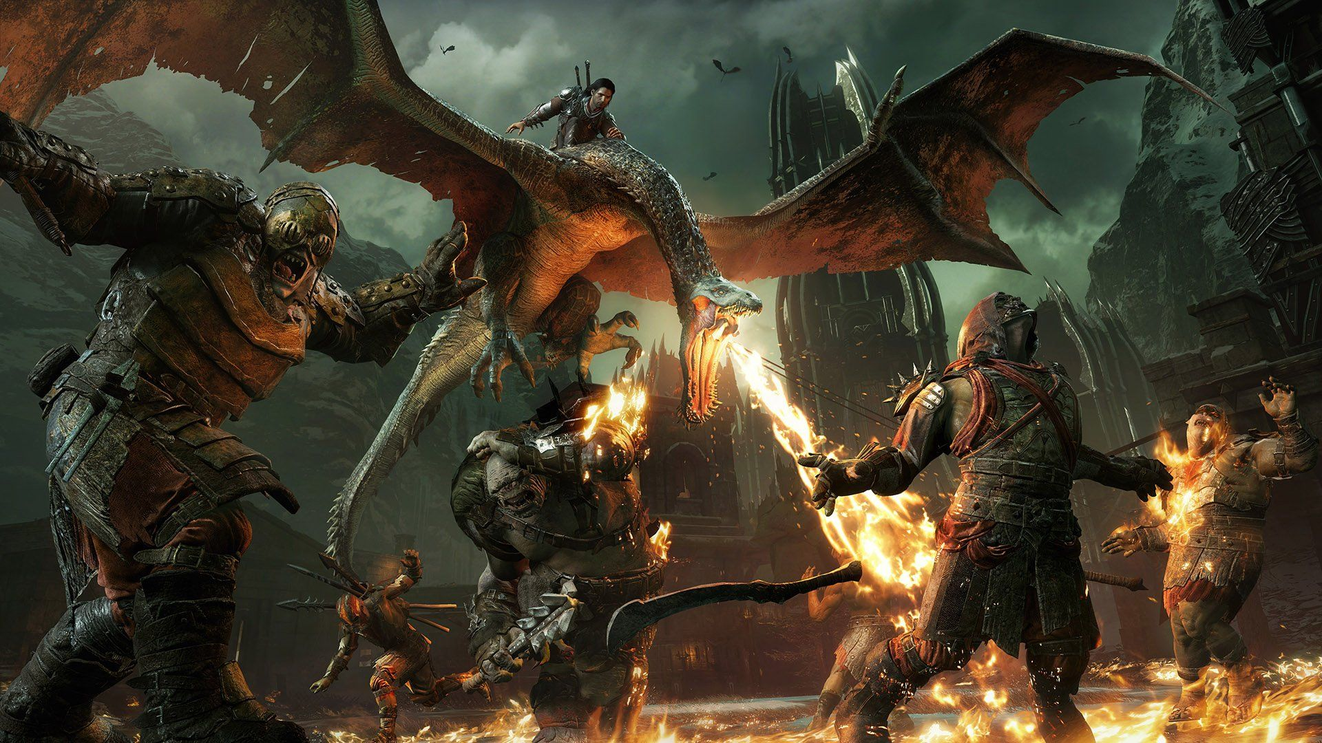 Middle Earth Shadow Of War Dragon