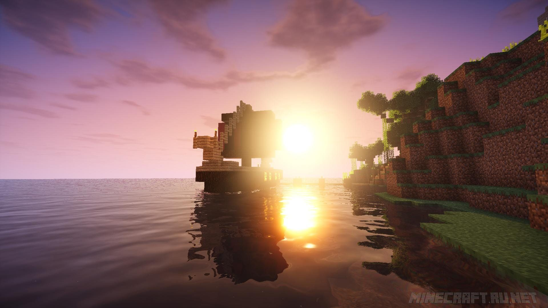 Minecraft Shaders Landscape
