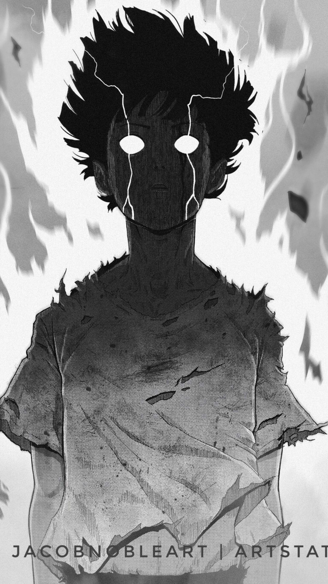 Mob Psycho 100 Shigeo Furious