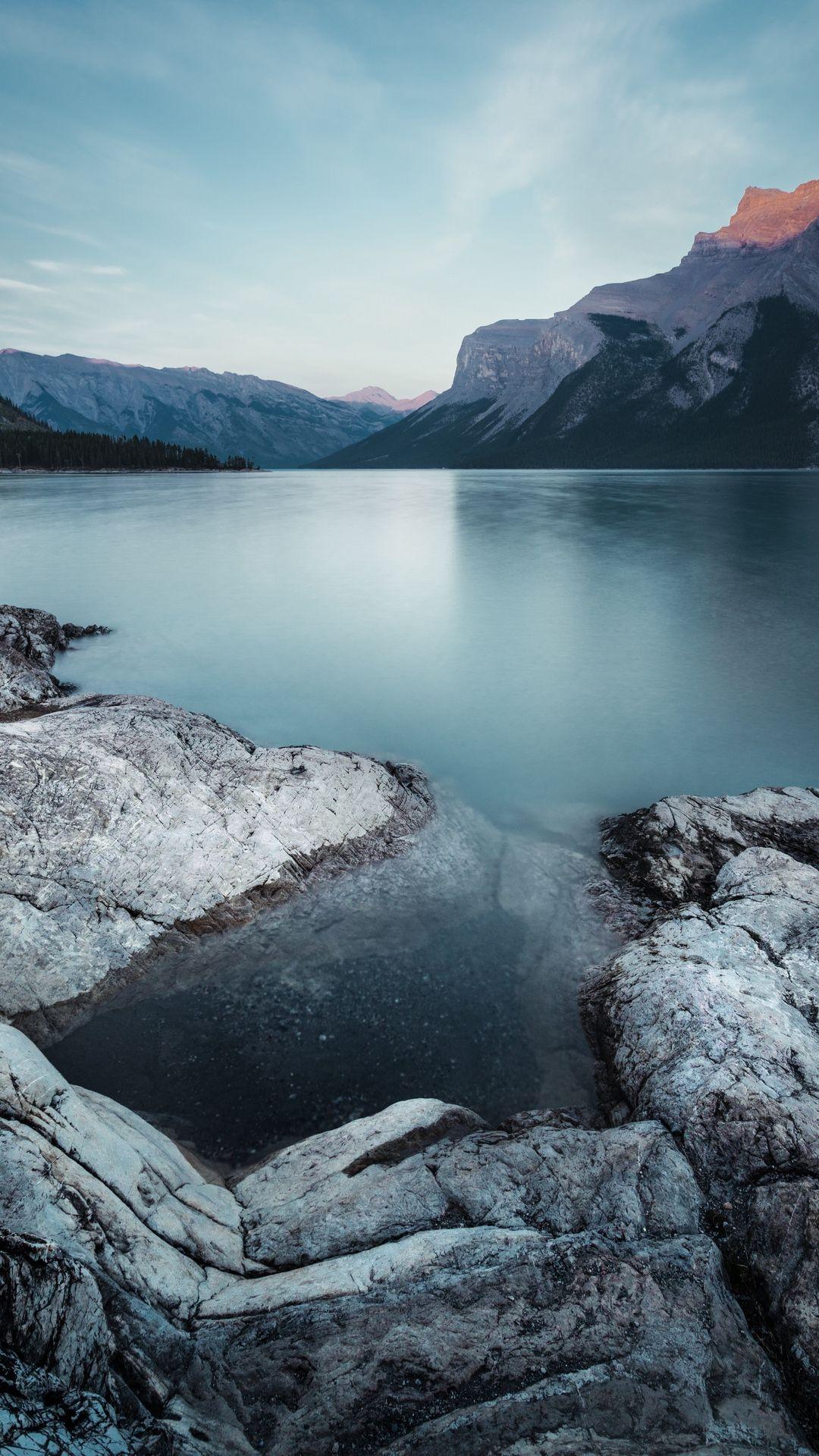 Mountain Lake Winter