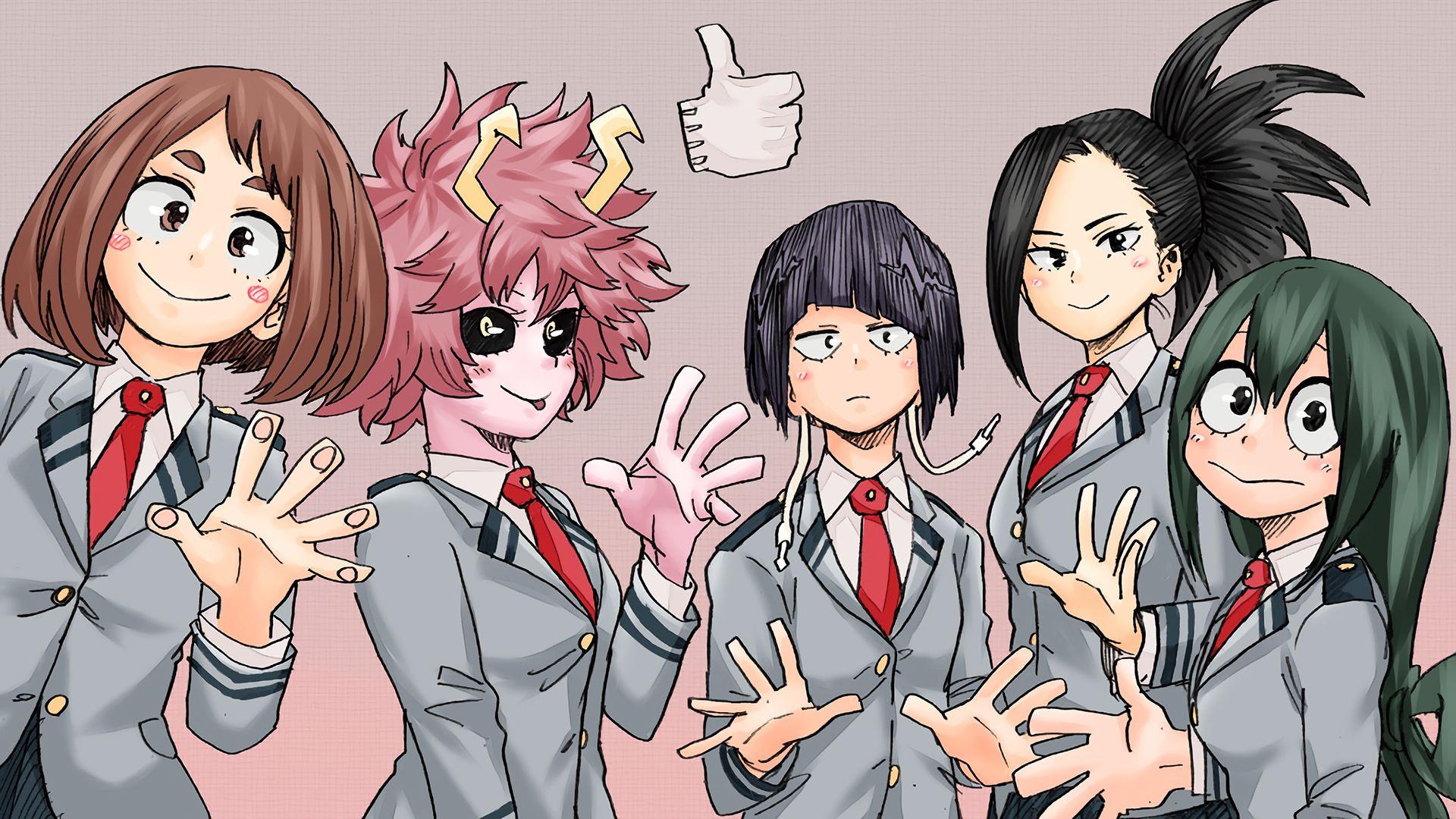 My Anime Hero Academy Uraraka