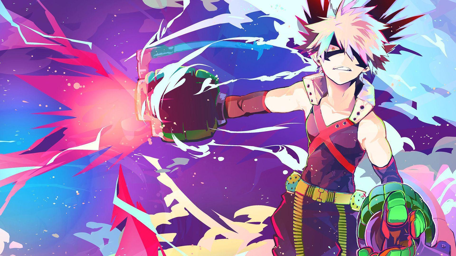 My Heroic Academy Bakusou Wallpaper