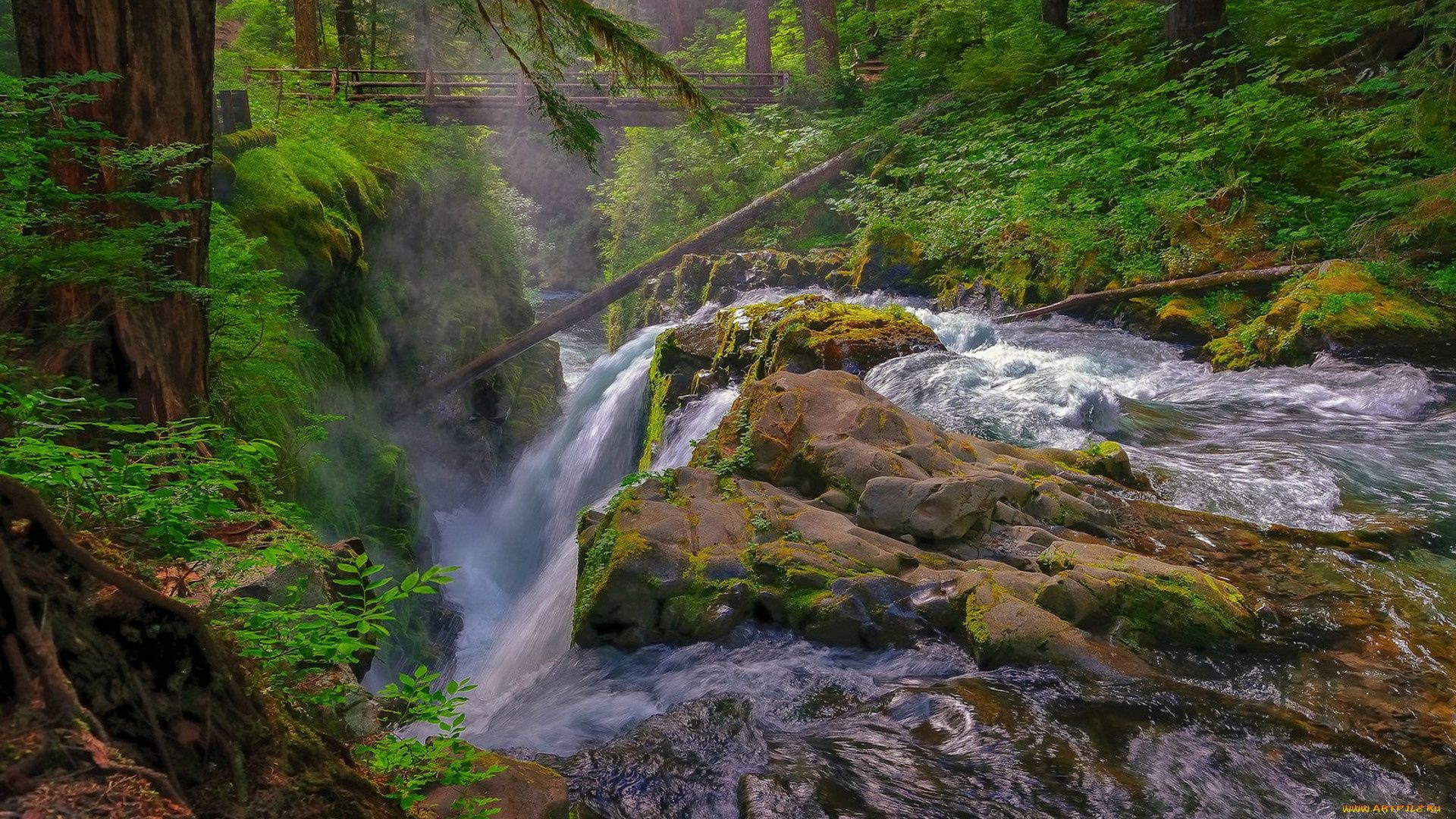 Nature Pictures Waterfalls Of The Urals