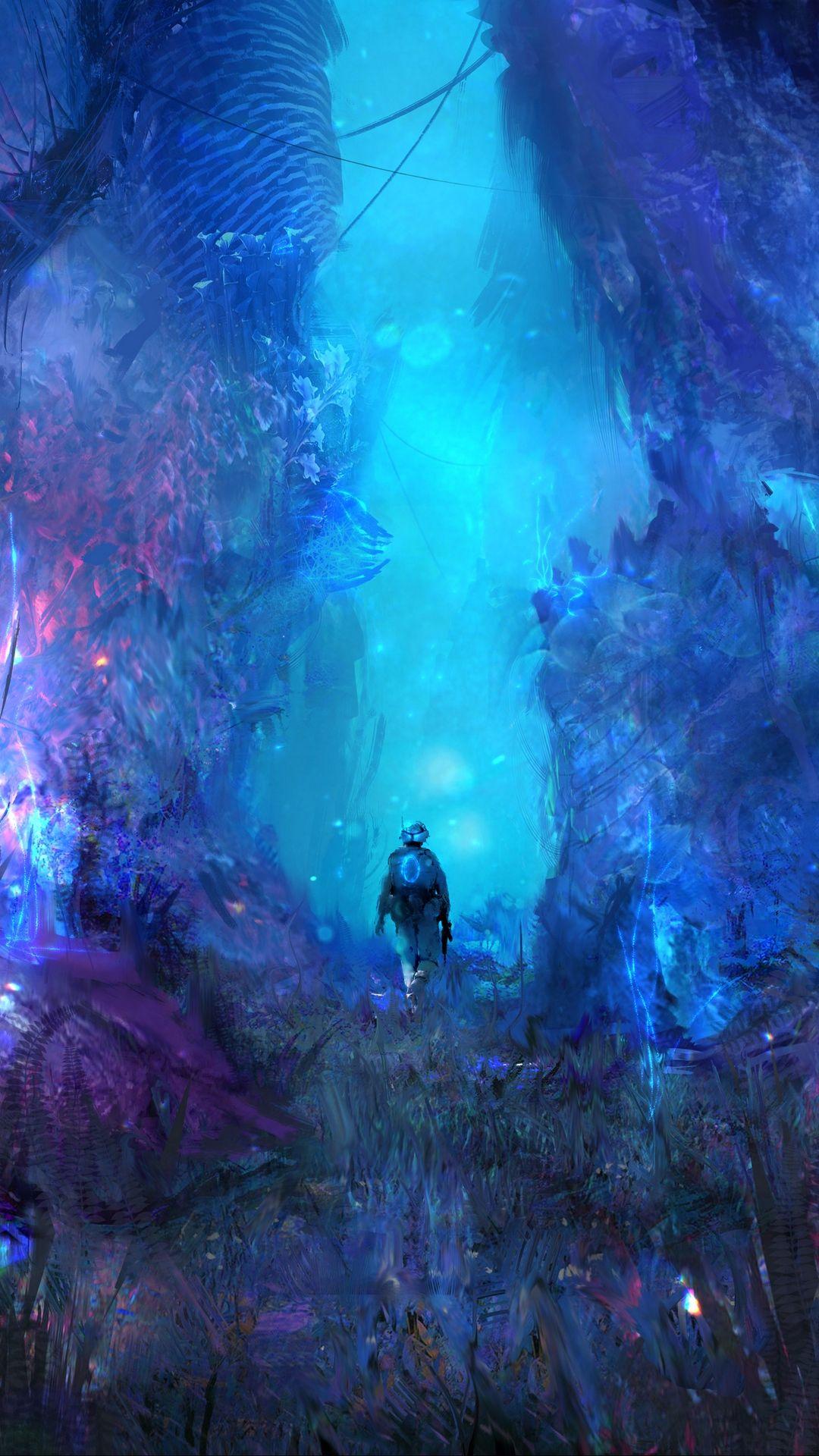 Neon Forest Art