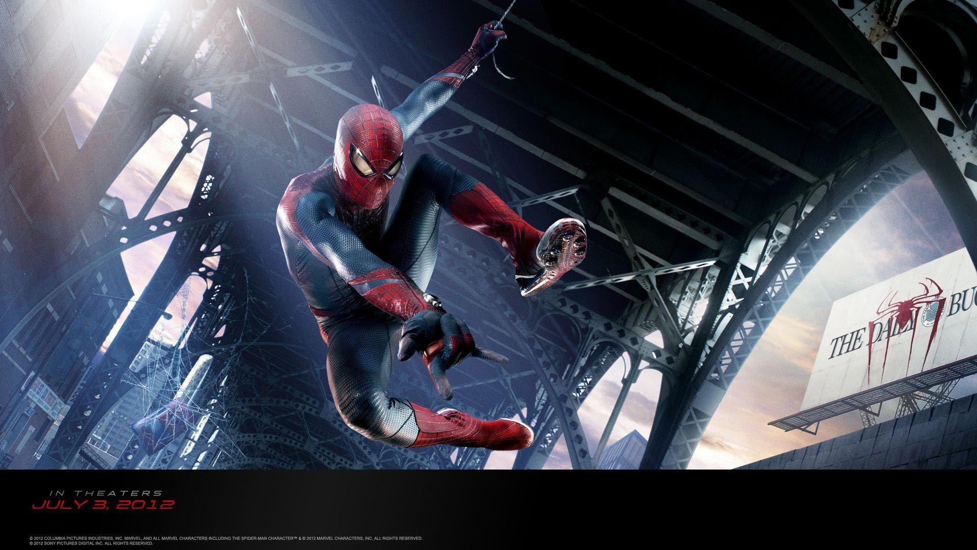 New Spider Man Movie 2012 Spider