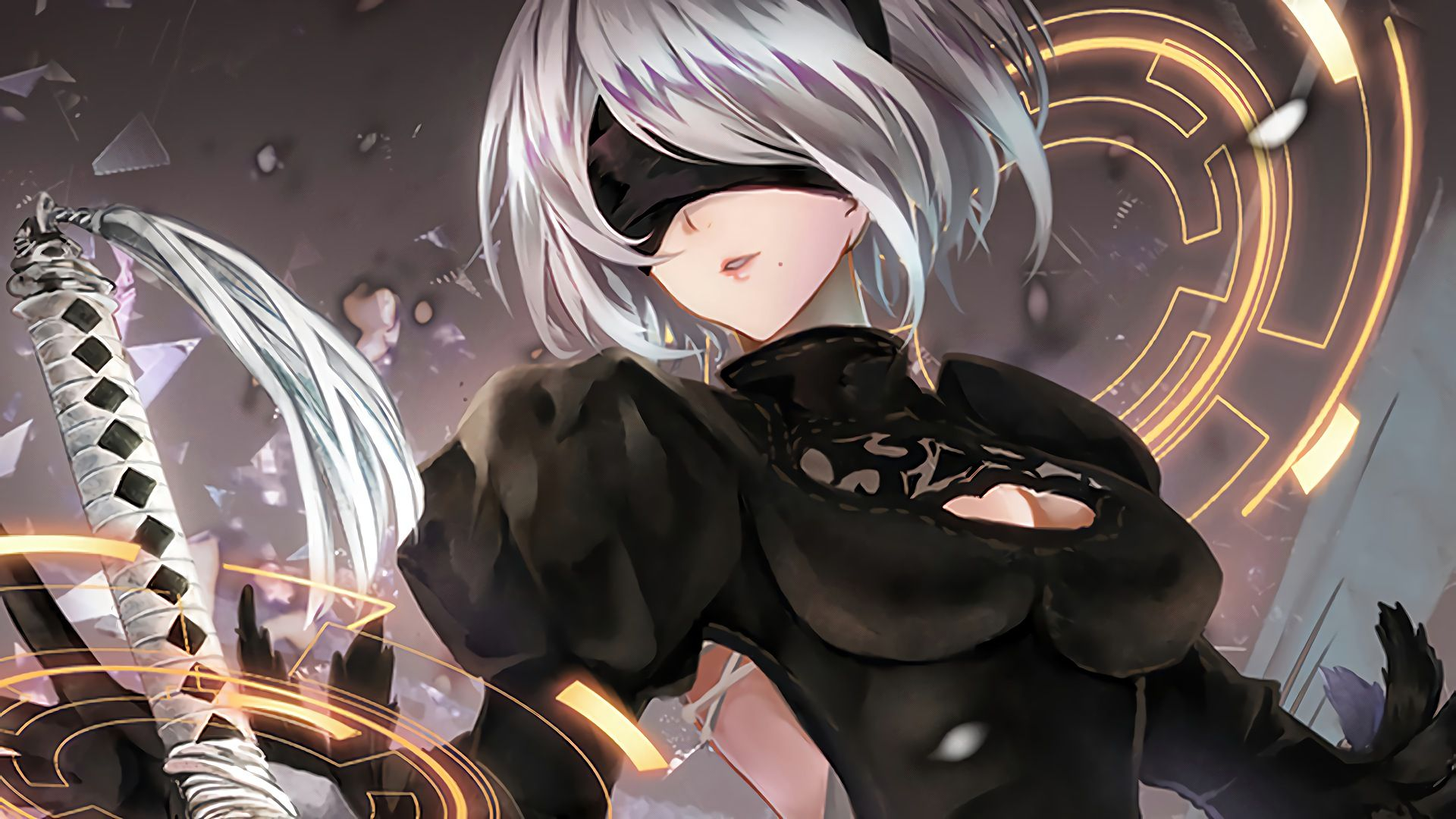 Nier Automata Wallpaper Anime