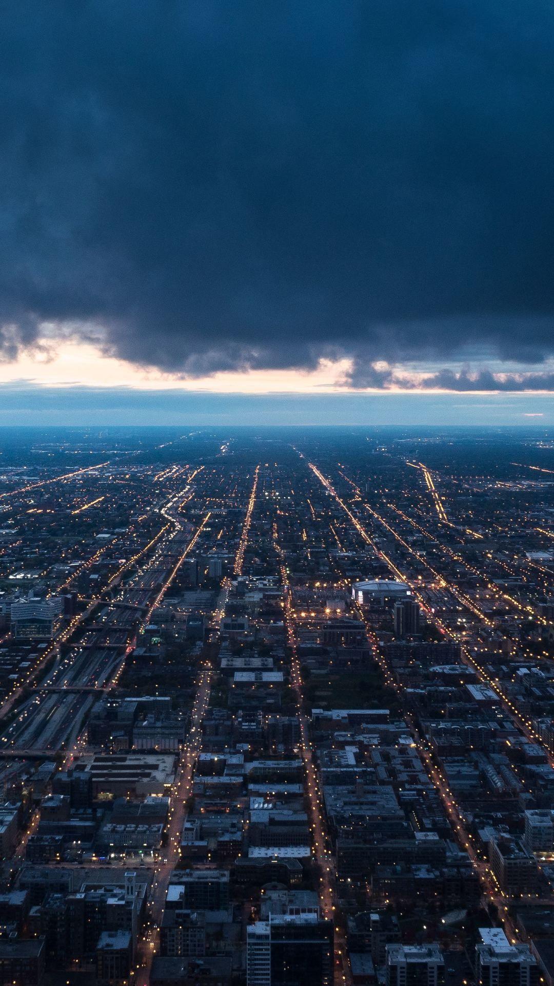 Night City Top View