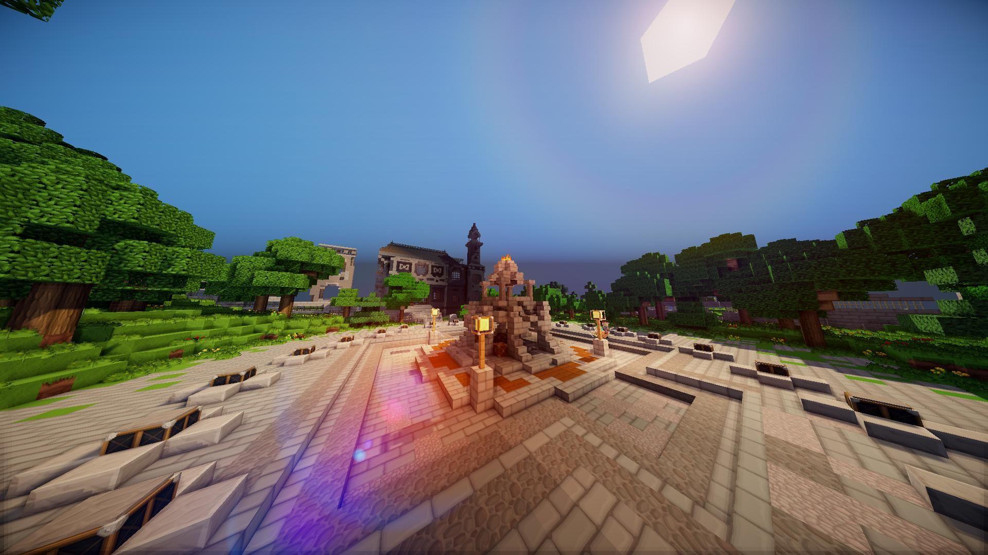 Photo Minecraft Background
