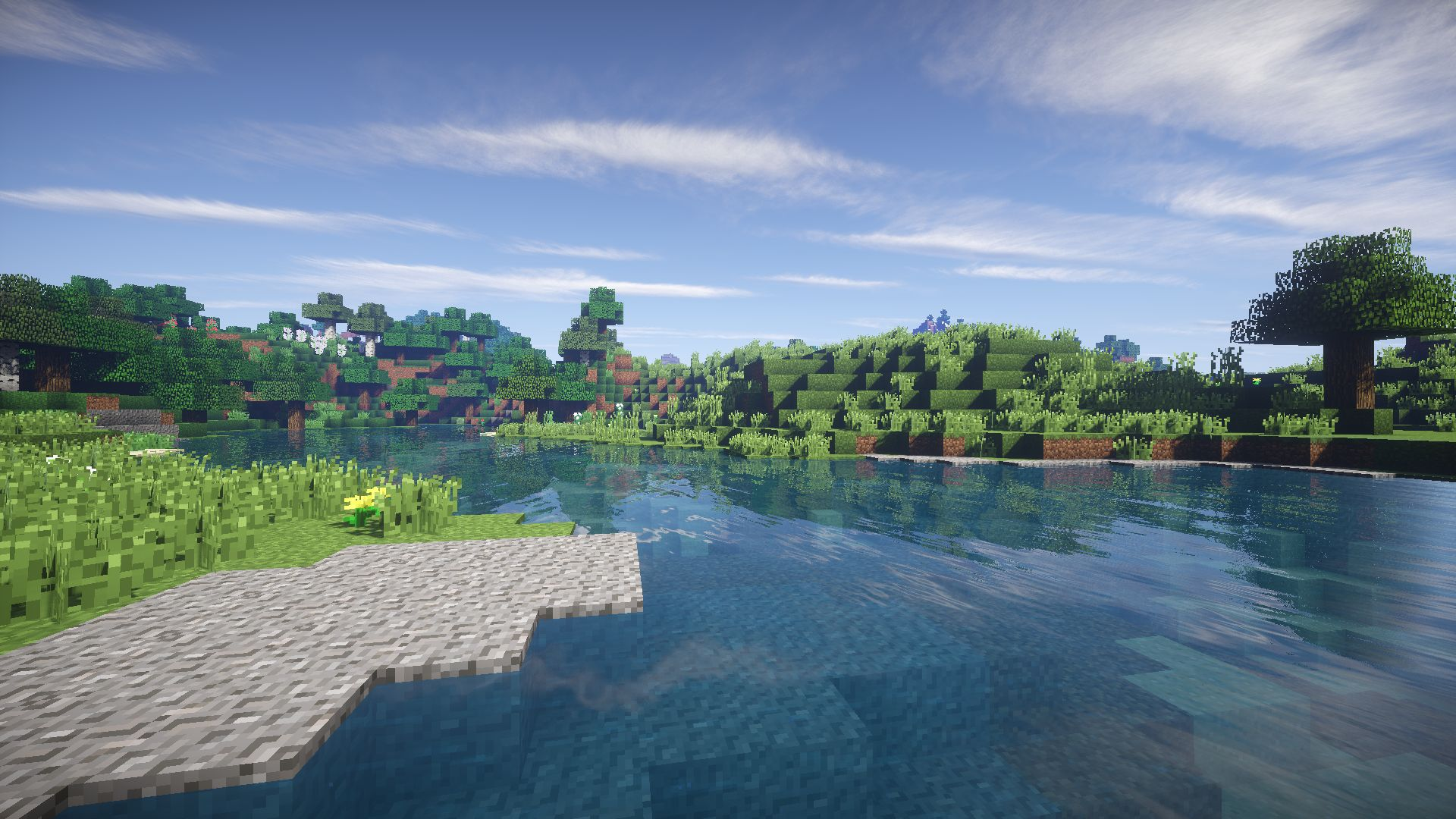 Photo Minecraft Shaders