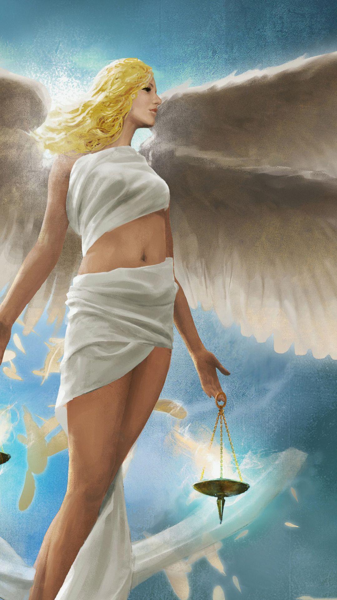 Photo Of Angel Wings Girl