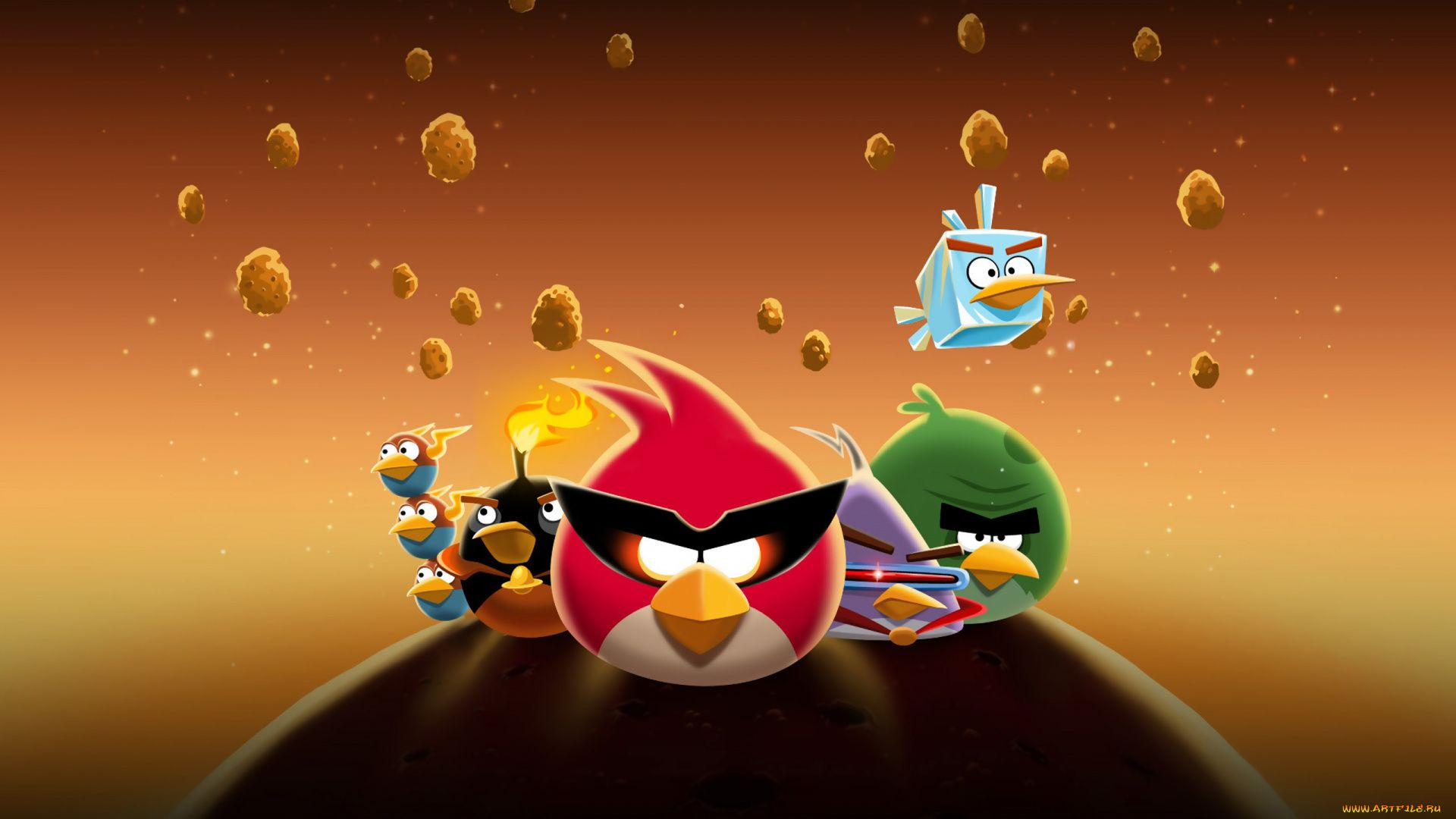 Photos Angry Birds Space